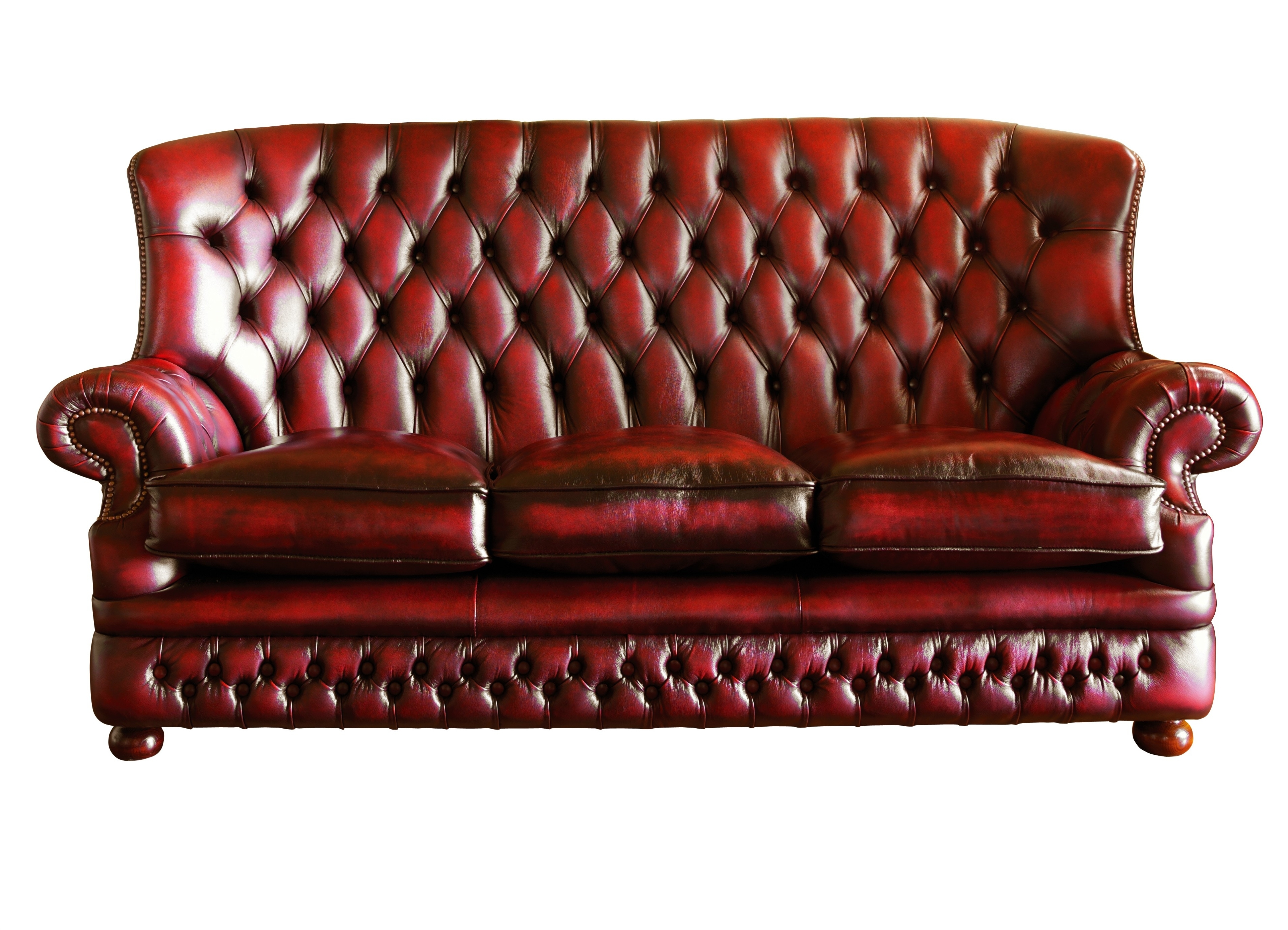 Red Leather Sectional Sofa With High Back Plus Arm Rest And Three Regarding Well Liked Sectional Sofas With High Backs (View 18 of 20)