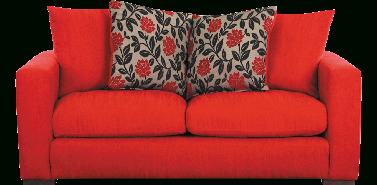 Red Sofa Chairs Throughout Latest 2 Seater Red Sofa (View 20 of 20)