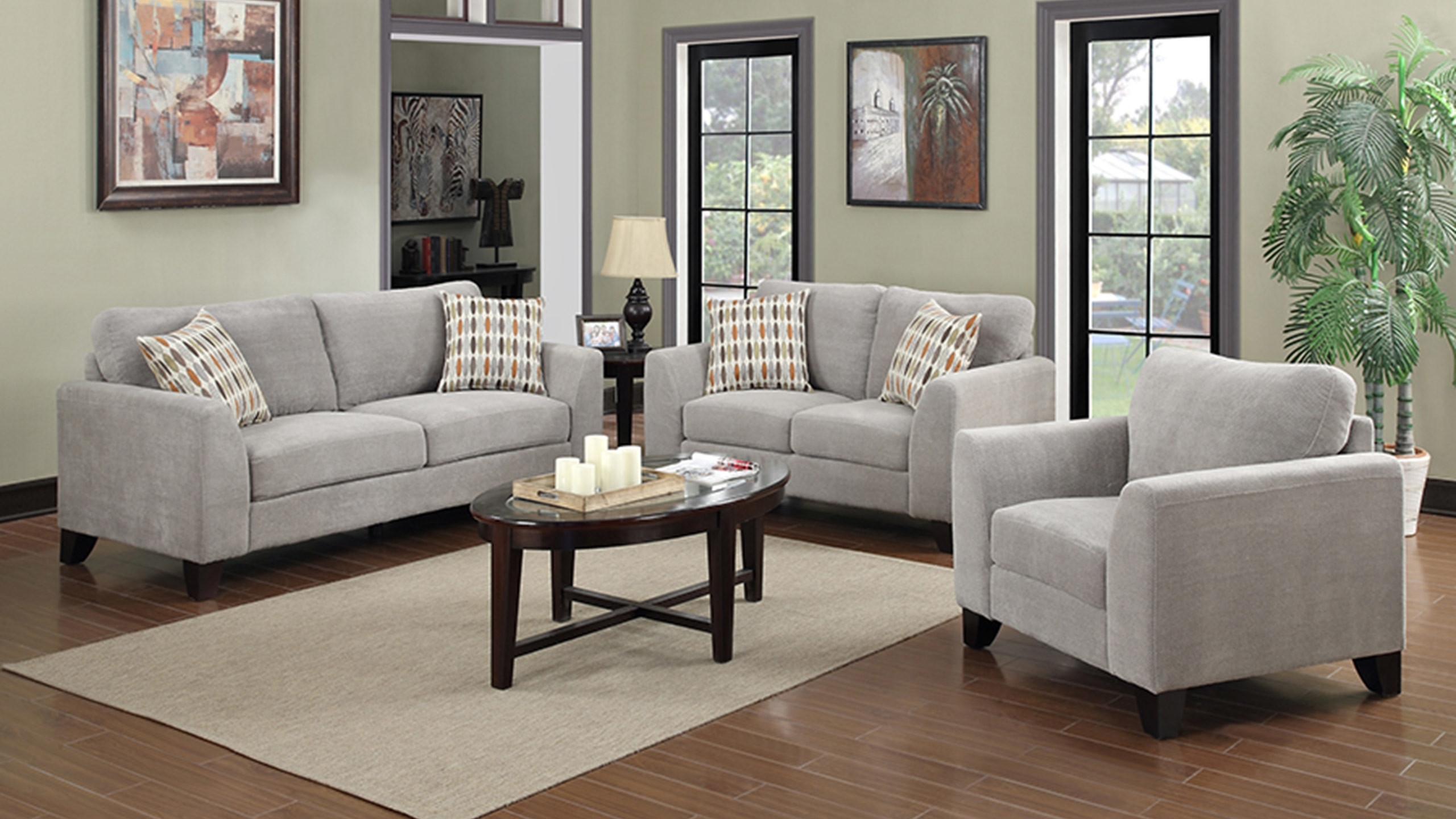 Rent Accent Chairs Aarons Kimberly Sectional Sofa Rental For With Widely Used Sectional Sofas At Aarons (View 12 of 20)