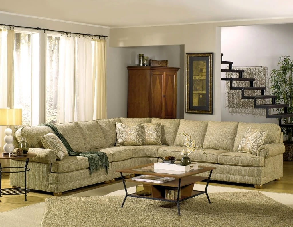 Residential Interior Design With Tailor Made Sectional Sofa Within Famous Made In North Carolina Sectional Sofas (View 17 of 20)