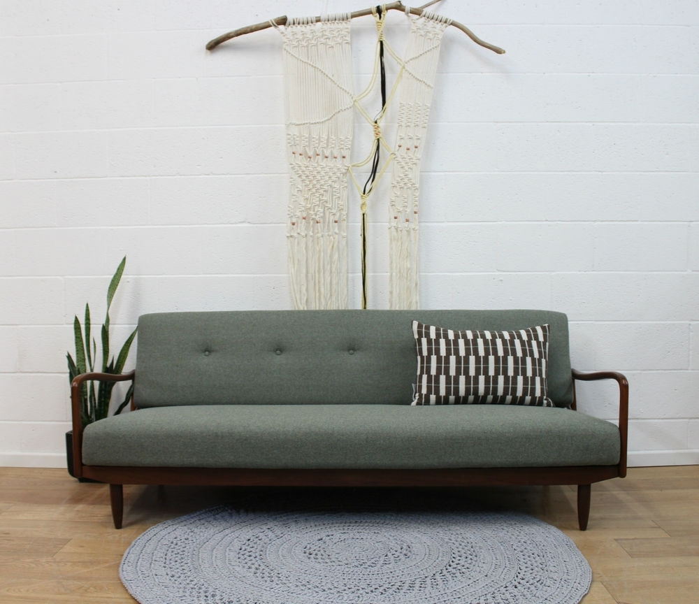 Retro Sofas Pertaining To Most Up To Date Fully Restored Vintage Greaves & Thomas Sofa Bed 1960s Retro (View 19 of 20)