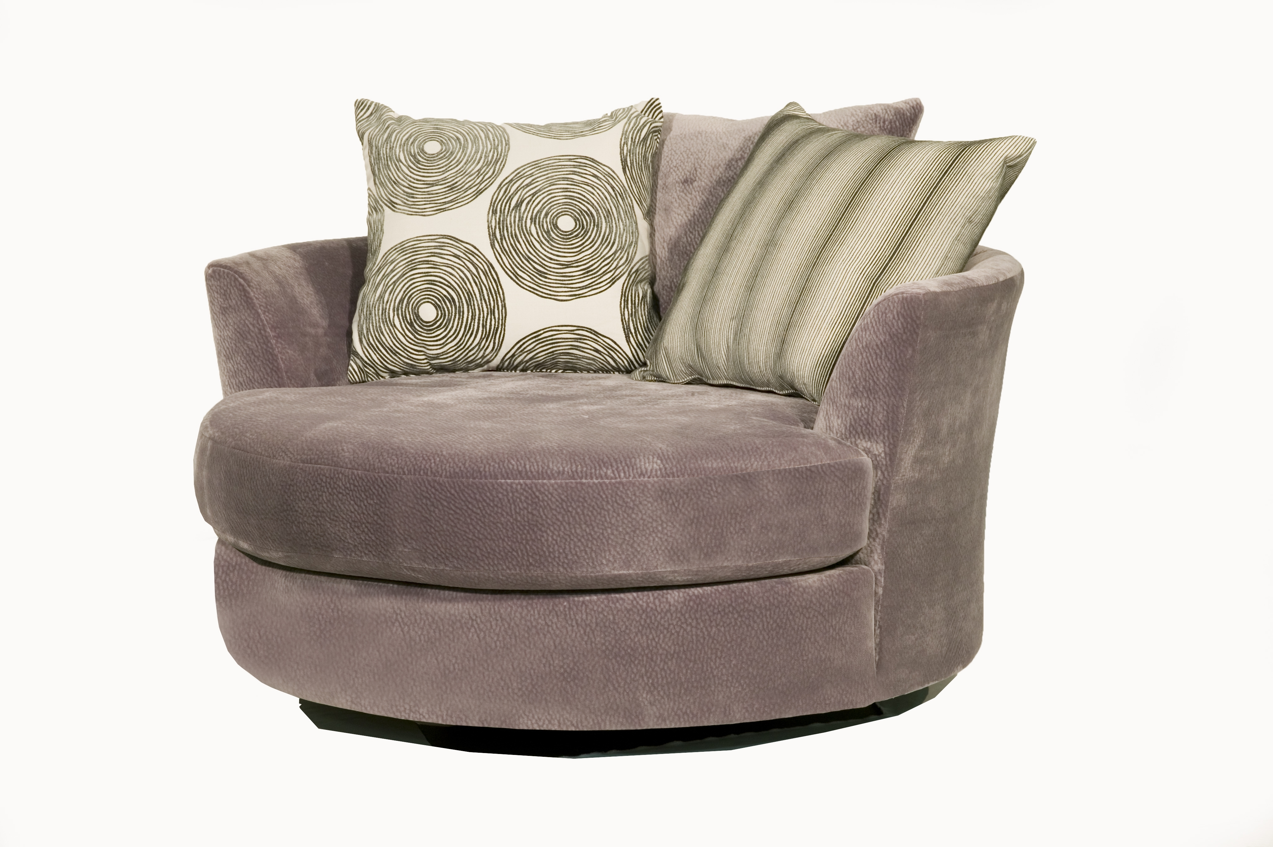 Robert Michael 9645 Cuddler Swivel Chair With Most Current Cuddler Swivel Sofa Chairs (View 6 of 20)