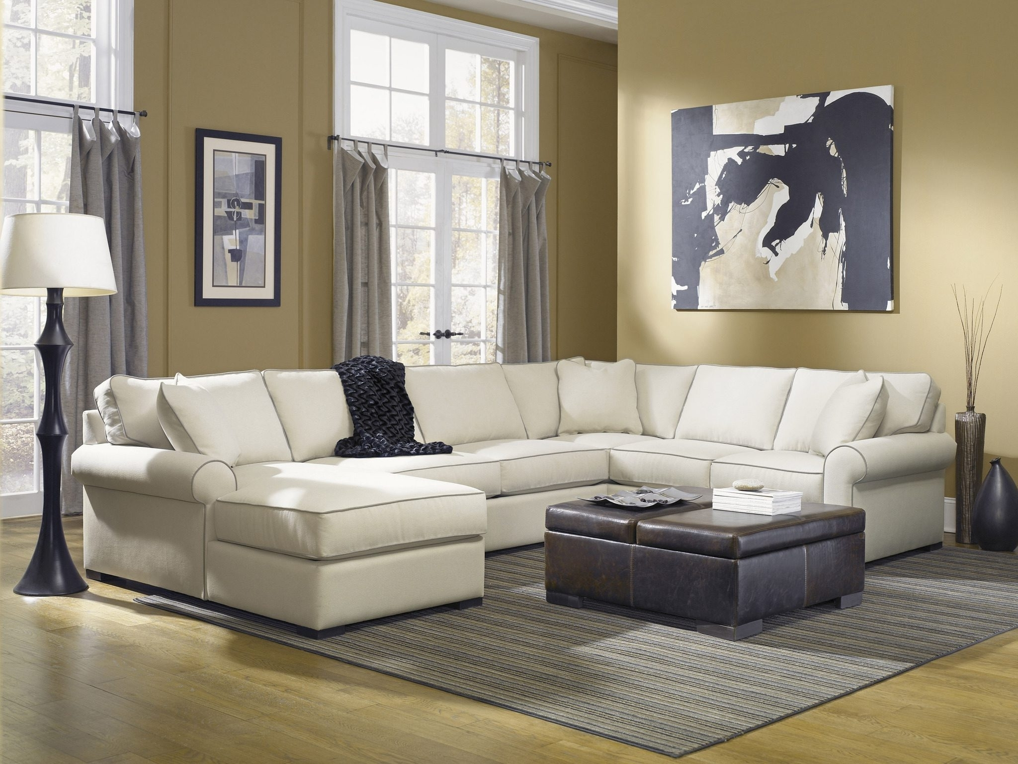 Robert Michaels Regarding Down Filled Sectional Sofas (View 18 of 20)