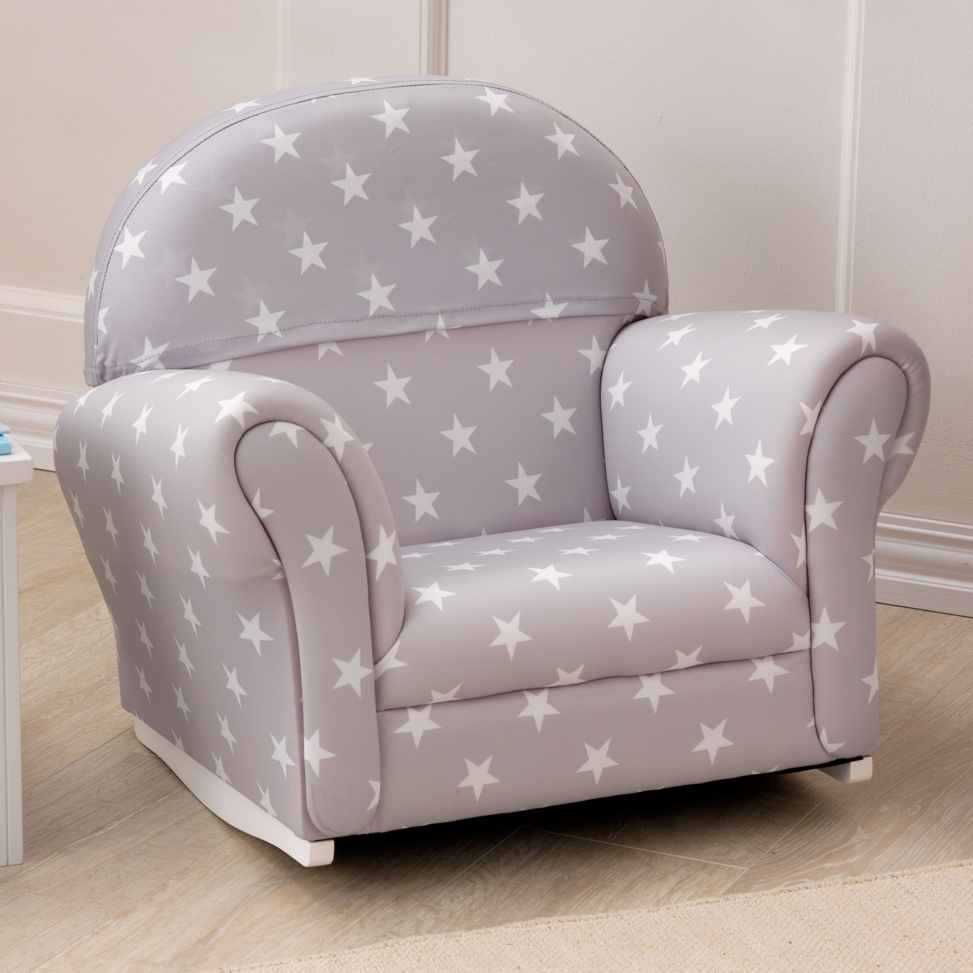 Rocking Sofa Chairs Regarding Current Armchair : Upholstered Toddler Chairs Toddler Chair With Name Kids (View 13 of 20)