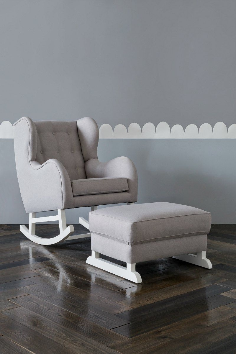 Rocking Sofa Chairs Regarding Favorite The Rocking Chair Your Nursery (and Sore Back) Has Been Crying Out (View 10 of 20)