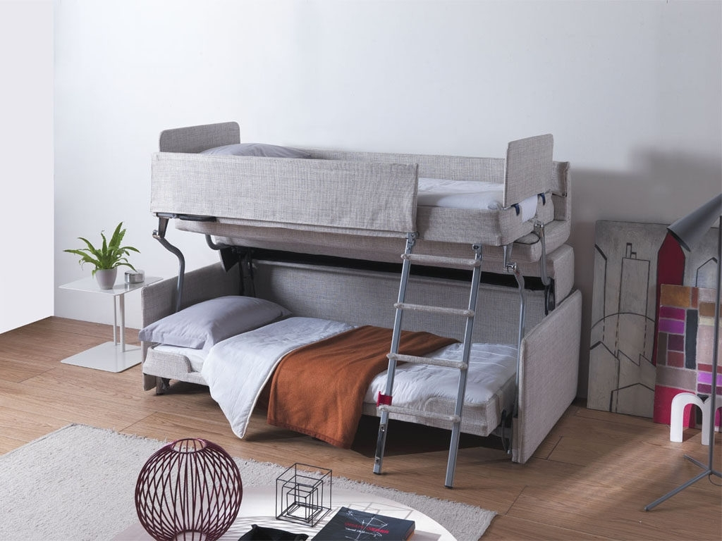 Room For Guests For Popular Sofa Bunk Beds (View 9 of 20)