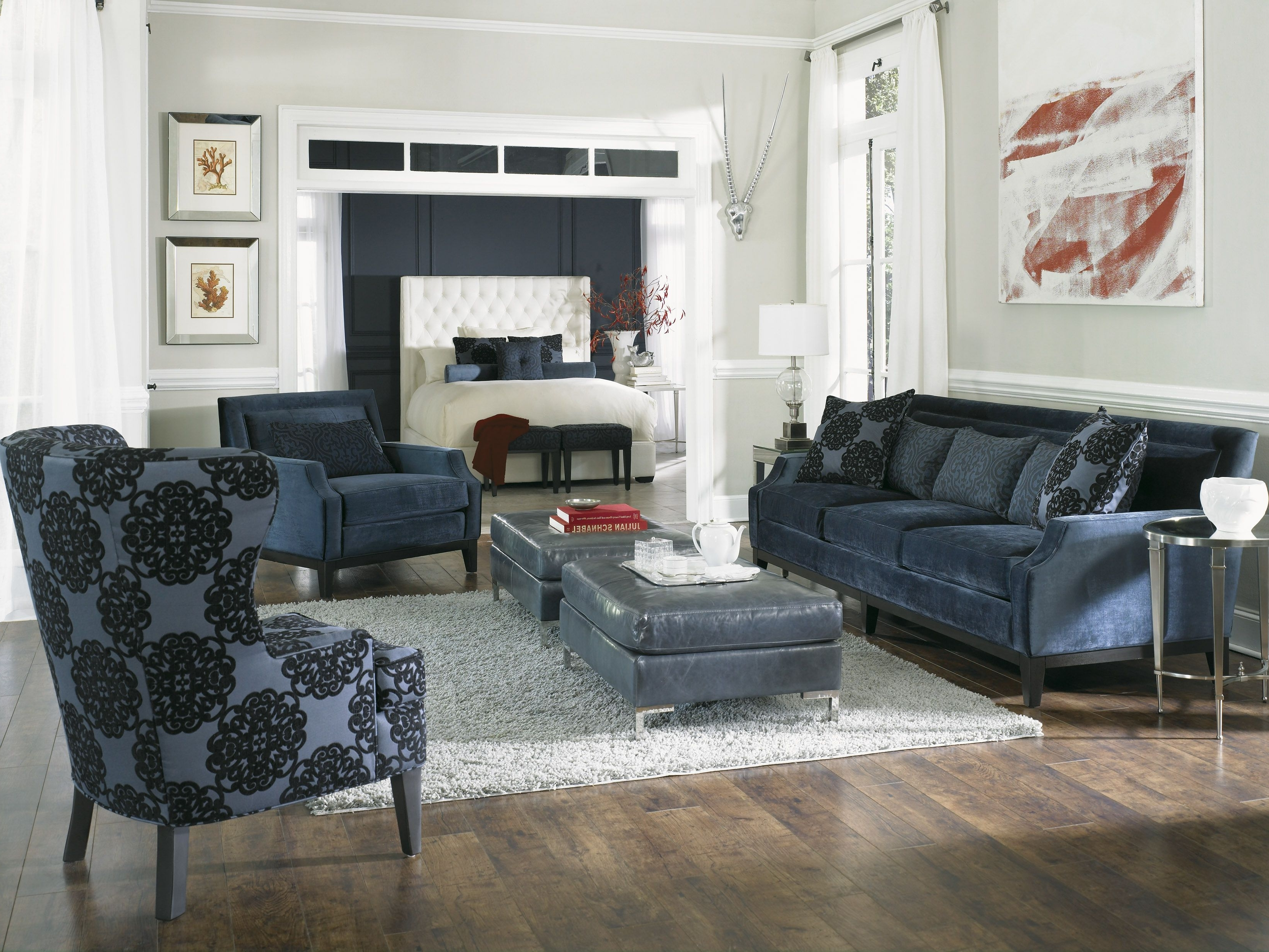 Rossdale'. Sofa, Loveseat, Chair & Ottoman (View 16 of 20)