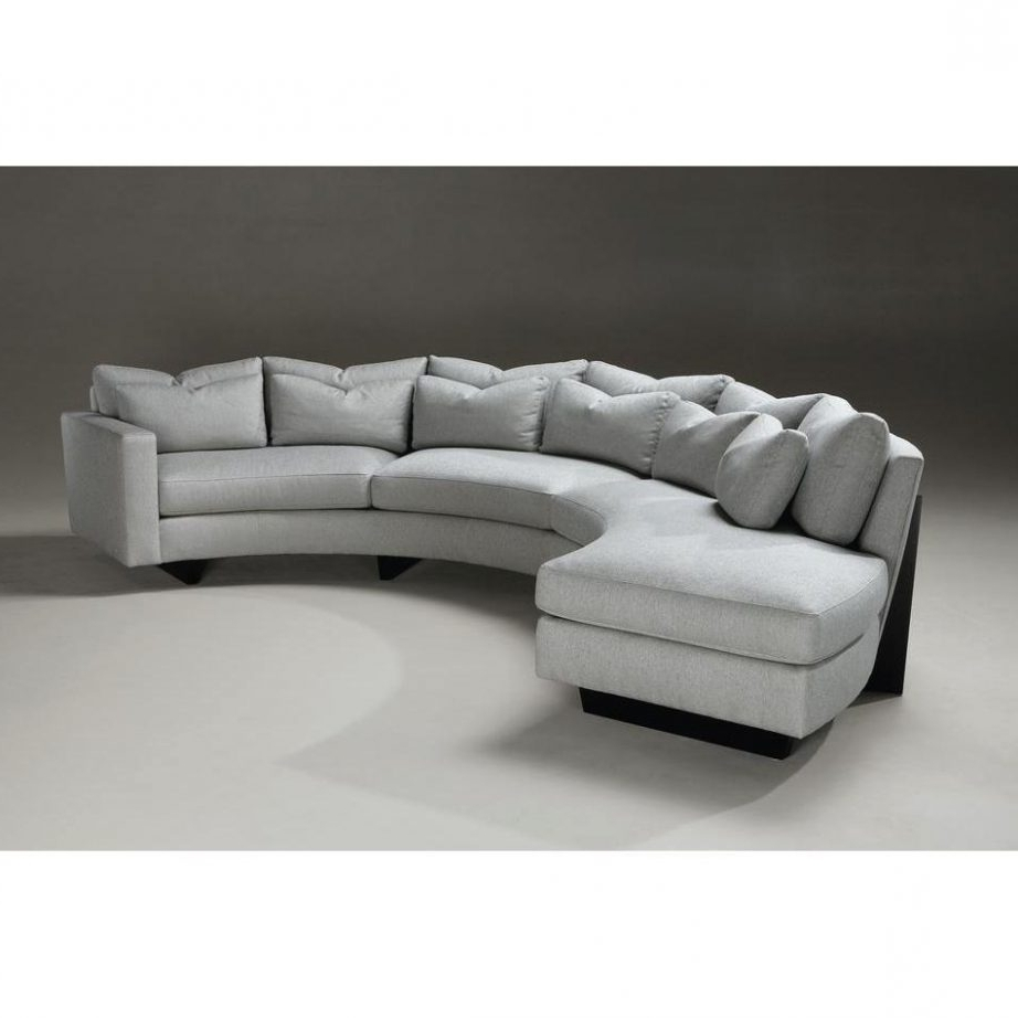 Round Sectional Sofas Within Trendy Good Curved Sectional Sofa 34 For Modern Sofa Inspiration With (View 19 of 20)