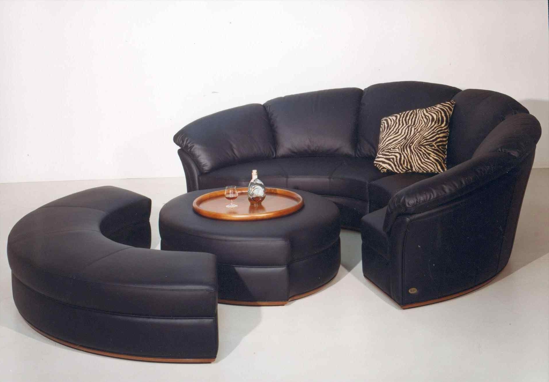 Round Sofas In Well Known Sofas : 3 Seater Sofa Contemporary Sofa Round Couch Chair Circular (View 12 of 20)