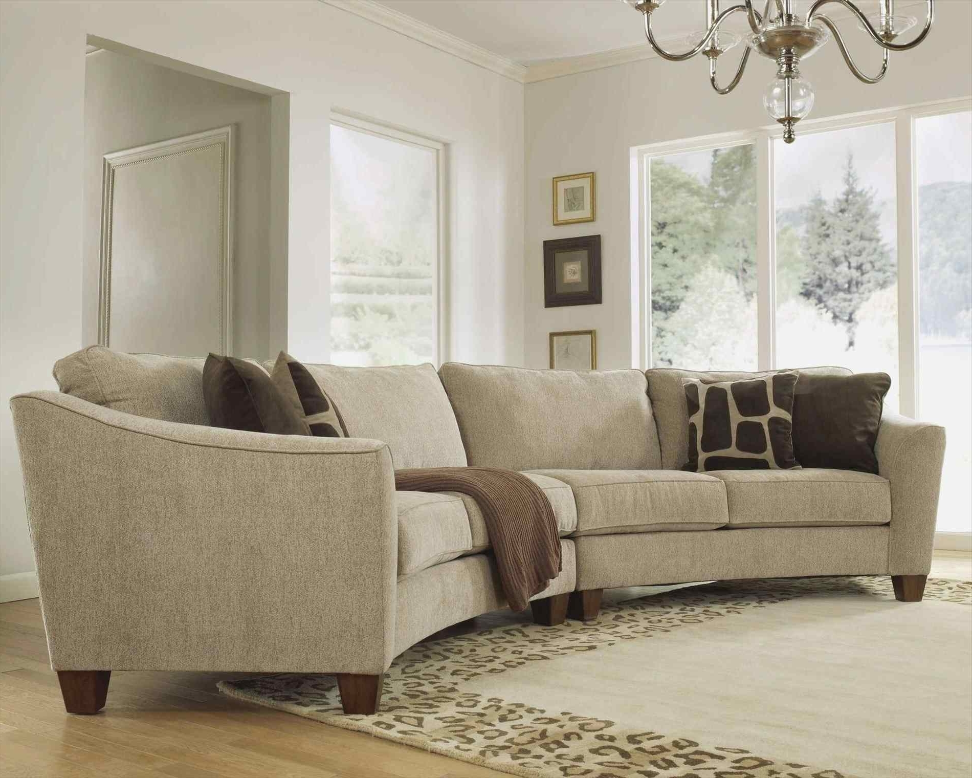 Rounded Corner Sectional Sofas Inside Favorite Couch : Interior Lovely Round Corner Couch Curved Sectional Sofa (View 16 of 20)