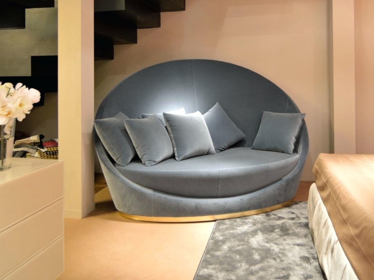 Rounded Sofas Intended For Newest Circular Sofa Sa For Sale Round Chair Dfs Sofas Living Room (View 4 of 20)