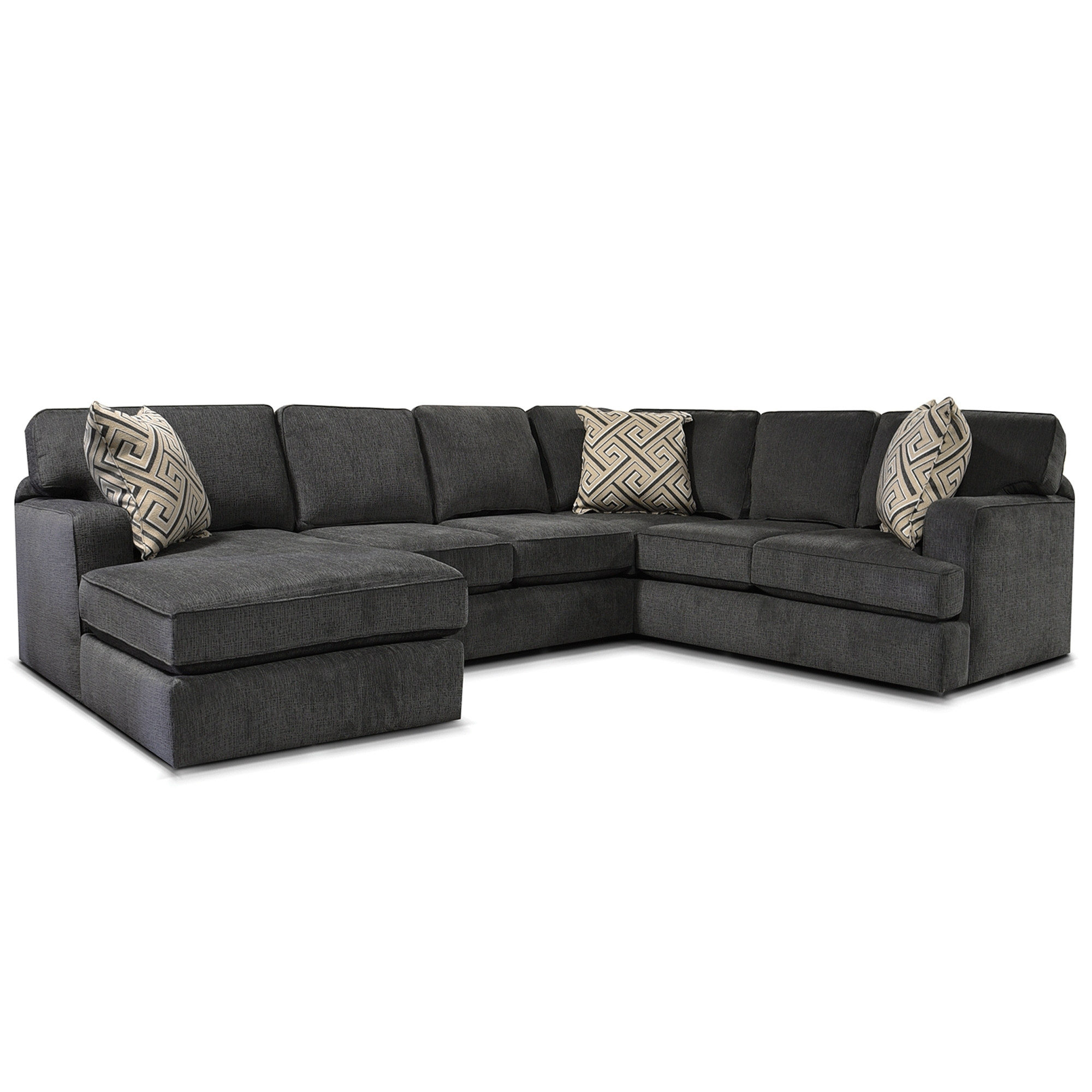 Rouse 3 Piece Sectional Bernie Phyl S Furniture England Regarding Widely Sofas