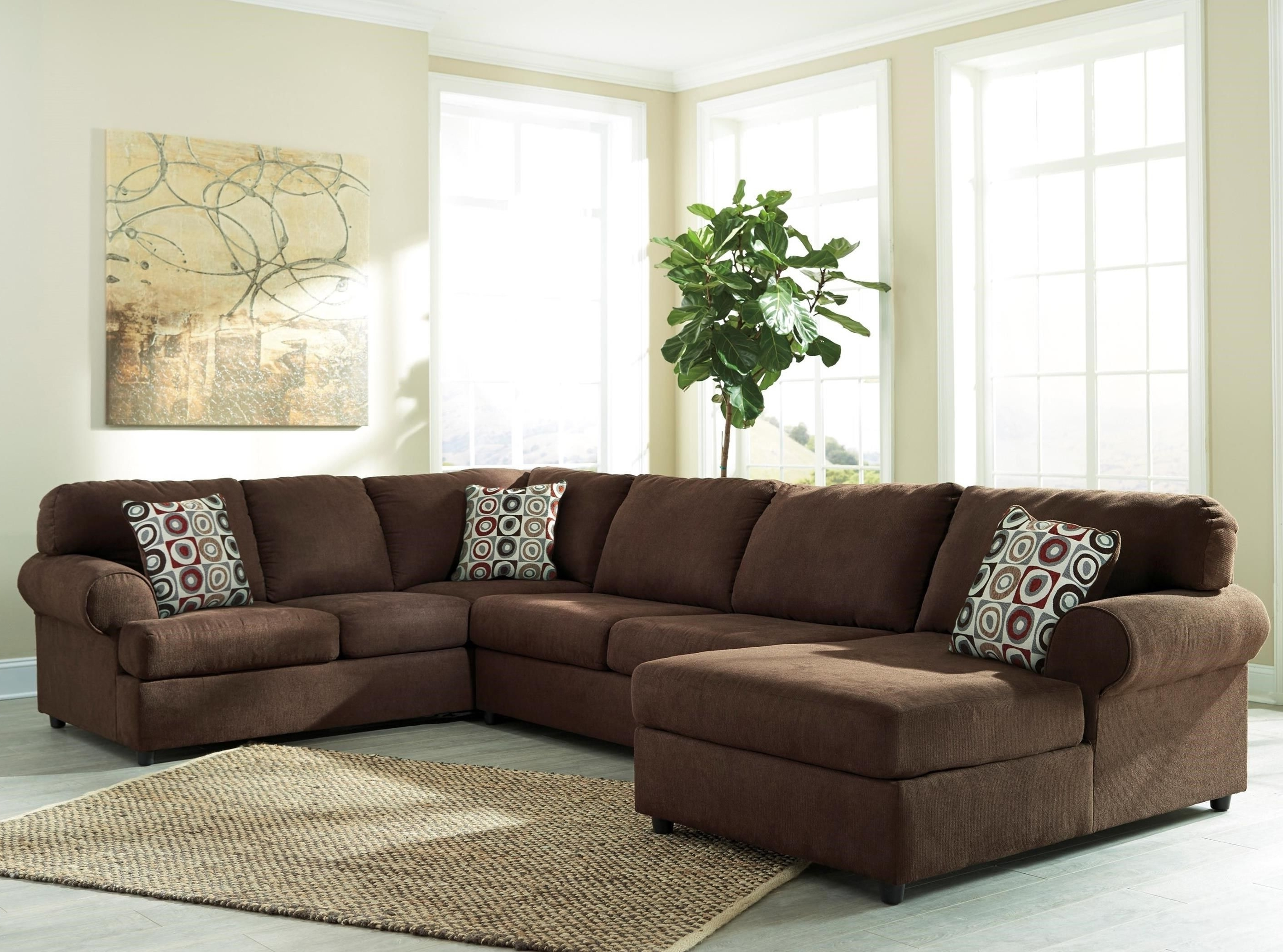 Royal Furniture Sectional Sofas Inside Most Current Jayceon 3 Piece Sectional With Left Chaisesignature Design (View 11 of 20)