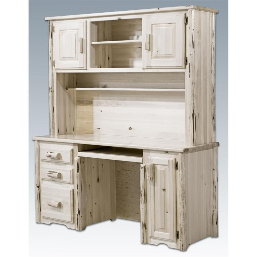 Rustic Computer Desks With Hutch — Home Design Ideas : Will You Pertaining To Current Rustic Computer Desks (View 13 of 20)