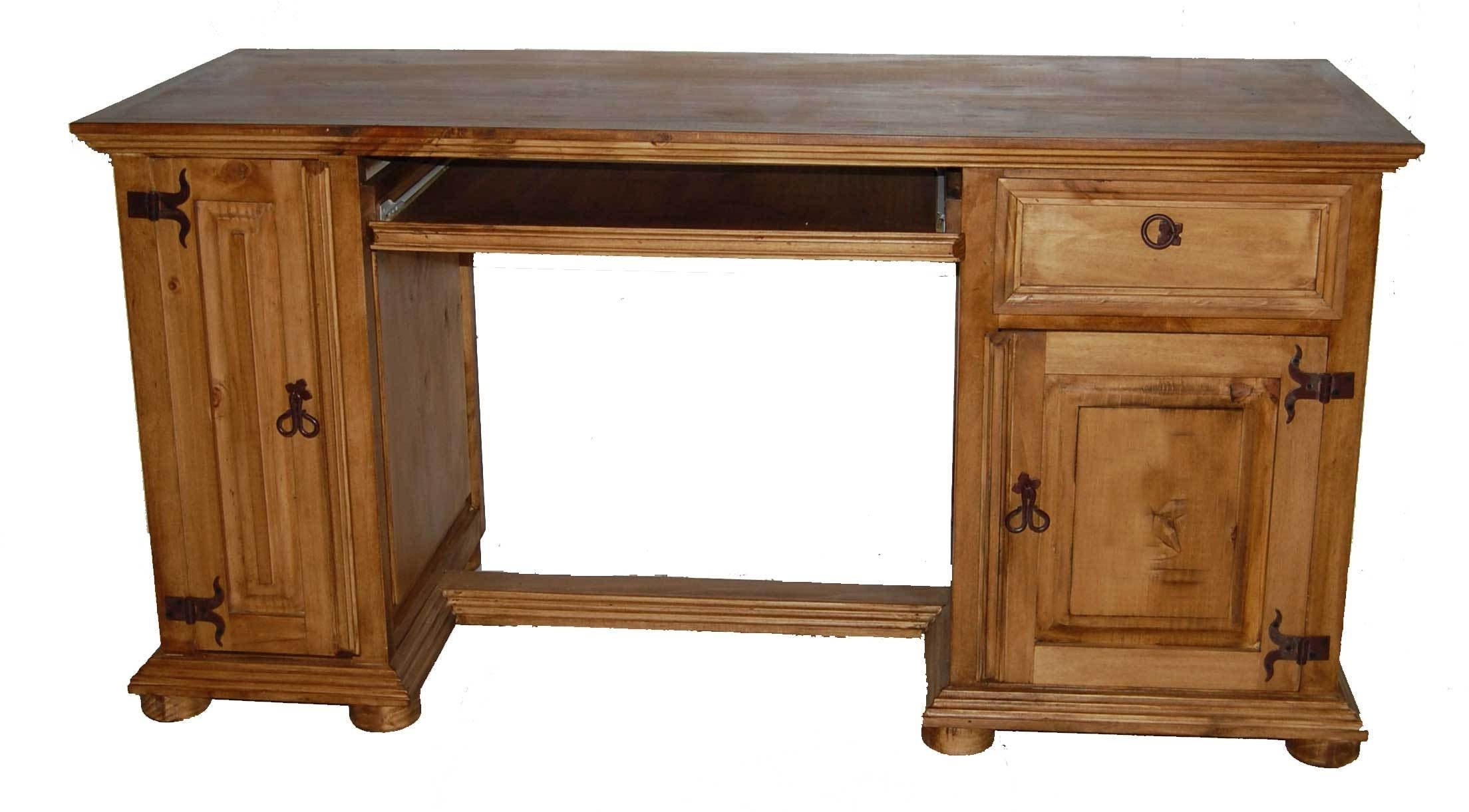 Rustic Computer Desks Within Favorite Computer Desk Only – Great Western Furniture Company (View 8 of 20)