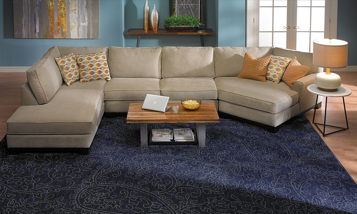 Sagittarius Cuddler Chaise Sectional (View 6 of 20)