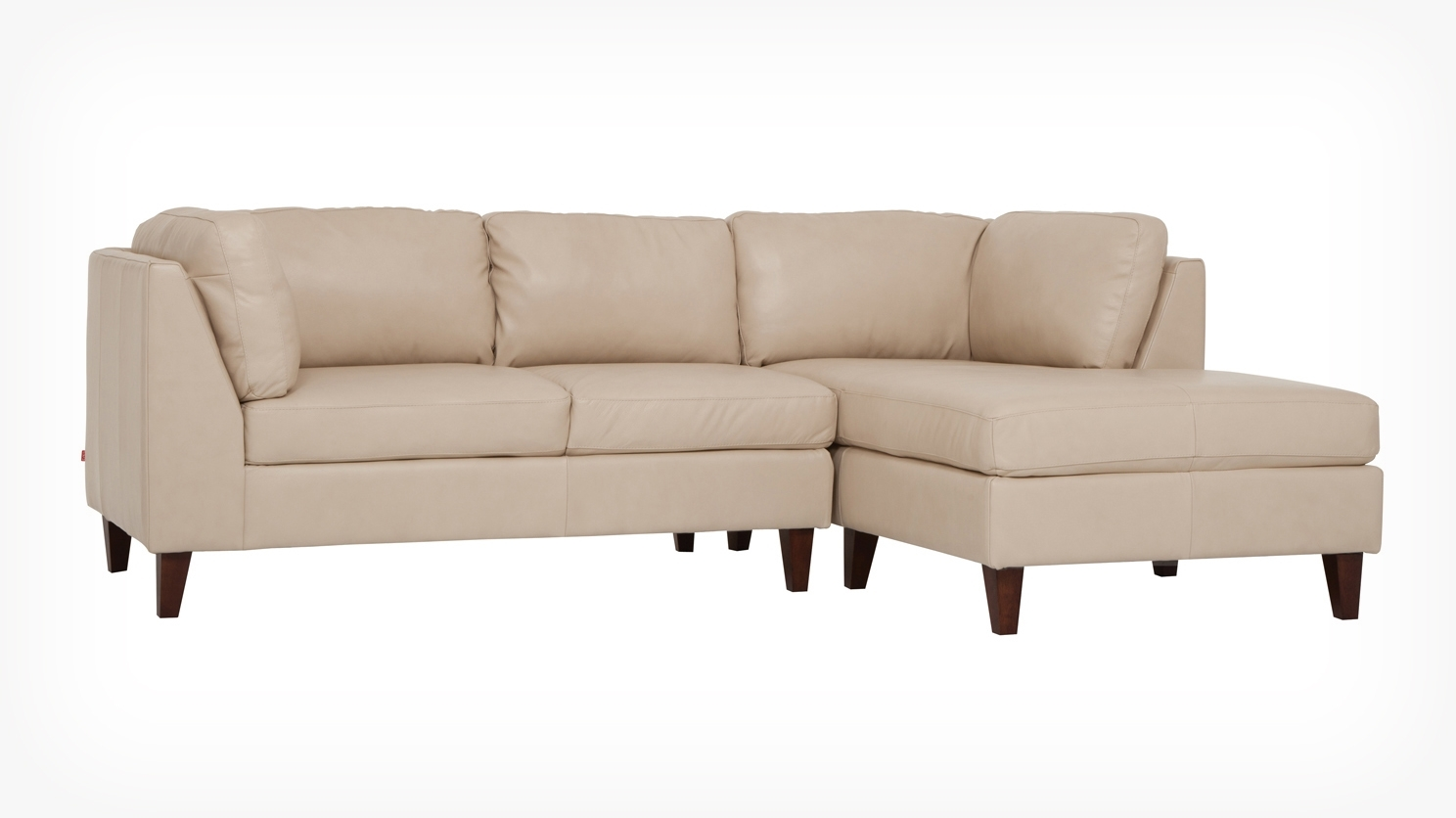 Salema 2 Piece Sectional Sofa With Chaise – Leather Throughout Halifax Sectional Sofas (View 14 of 20)