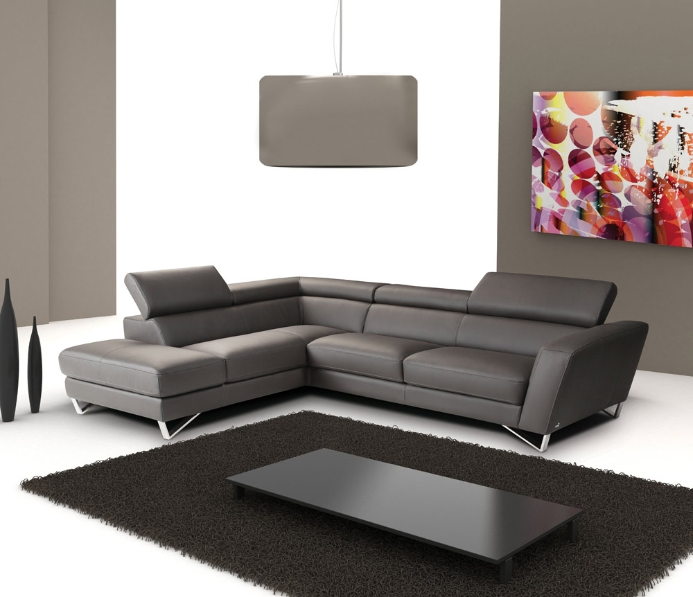 Salt Lake City Sectional Sofas With Newest Sparta Italian Leather Sectional Sofa (View 11 of 20)