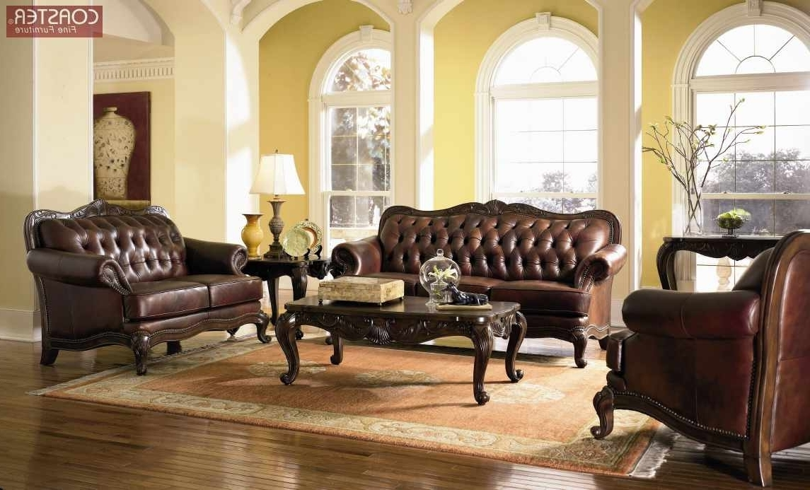 Santa Clara Furniture Store, San Jose Furniture Store, Sunnyvale In Most Recently Released Victorian Leather Sofas (View 12 of 20)