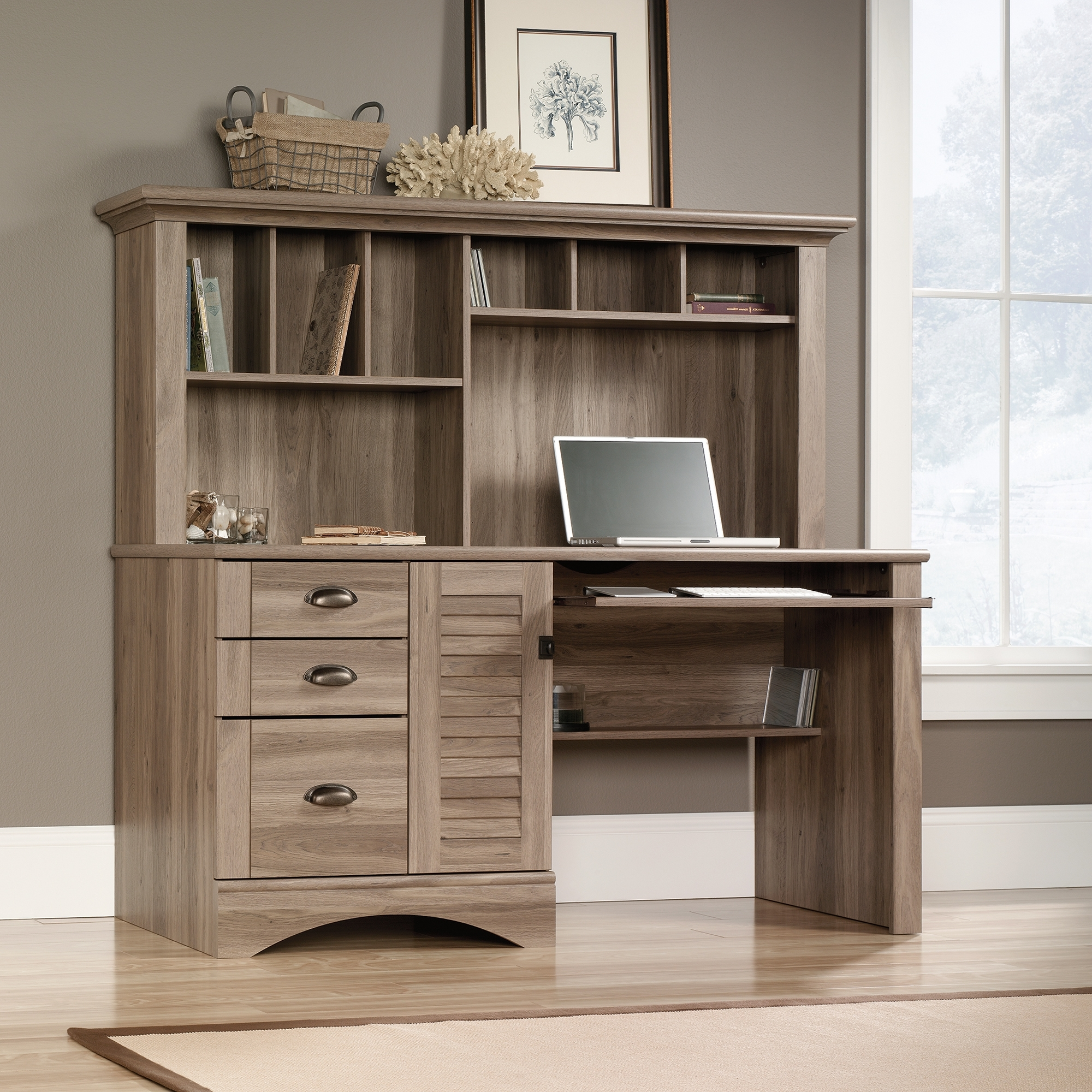 Sauder In 2018 Computer Desks In Oak (View 18 of 20)