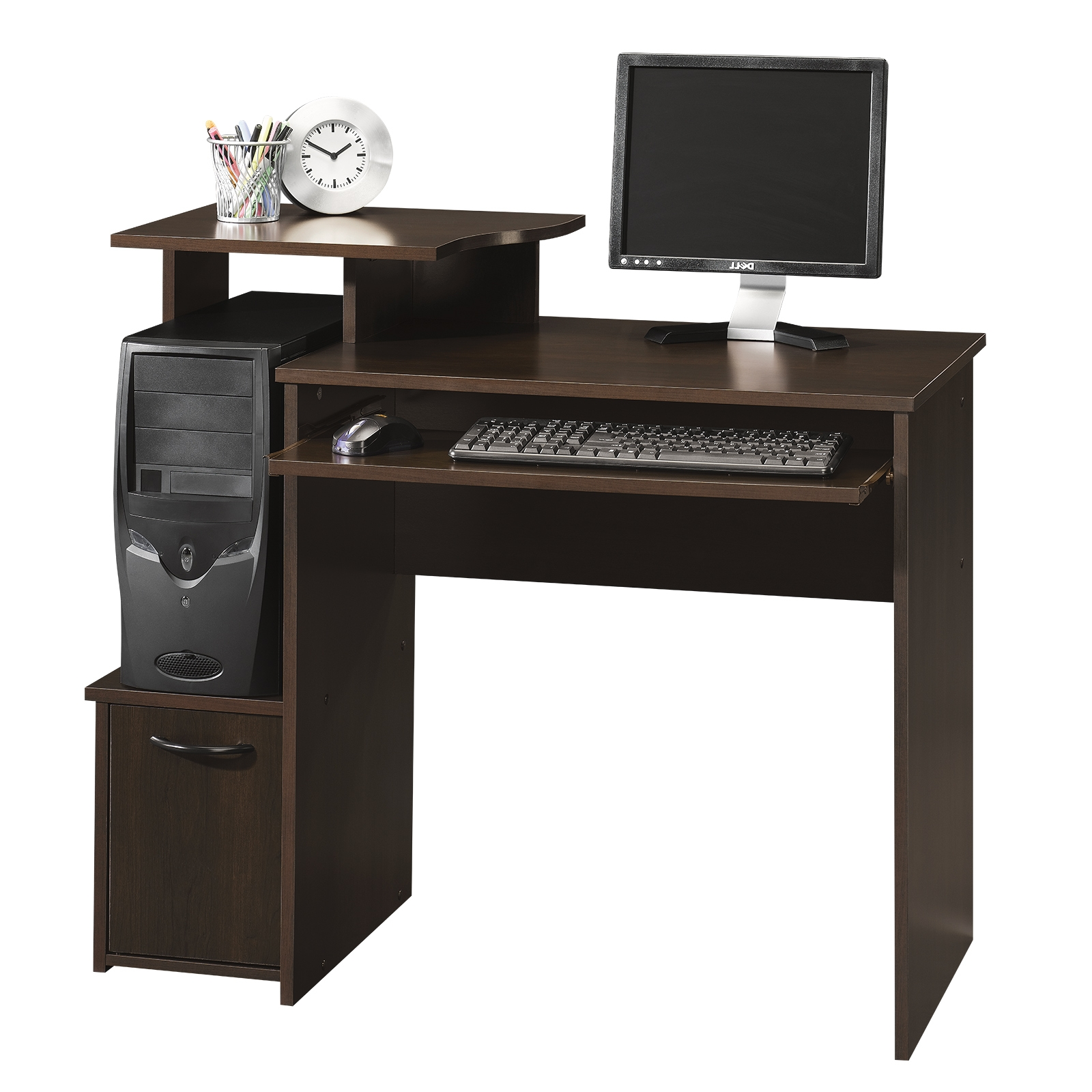 Sauder Intended For Latest Assembled Computer Desks (View 18 of 20)