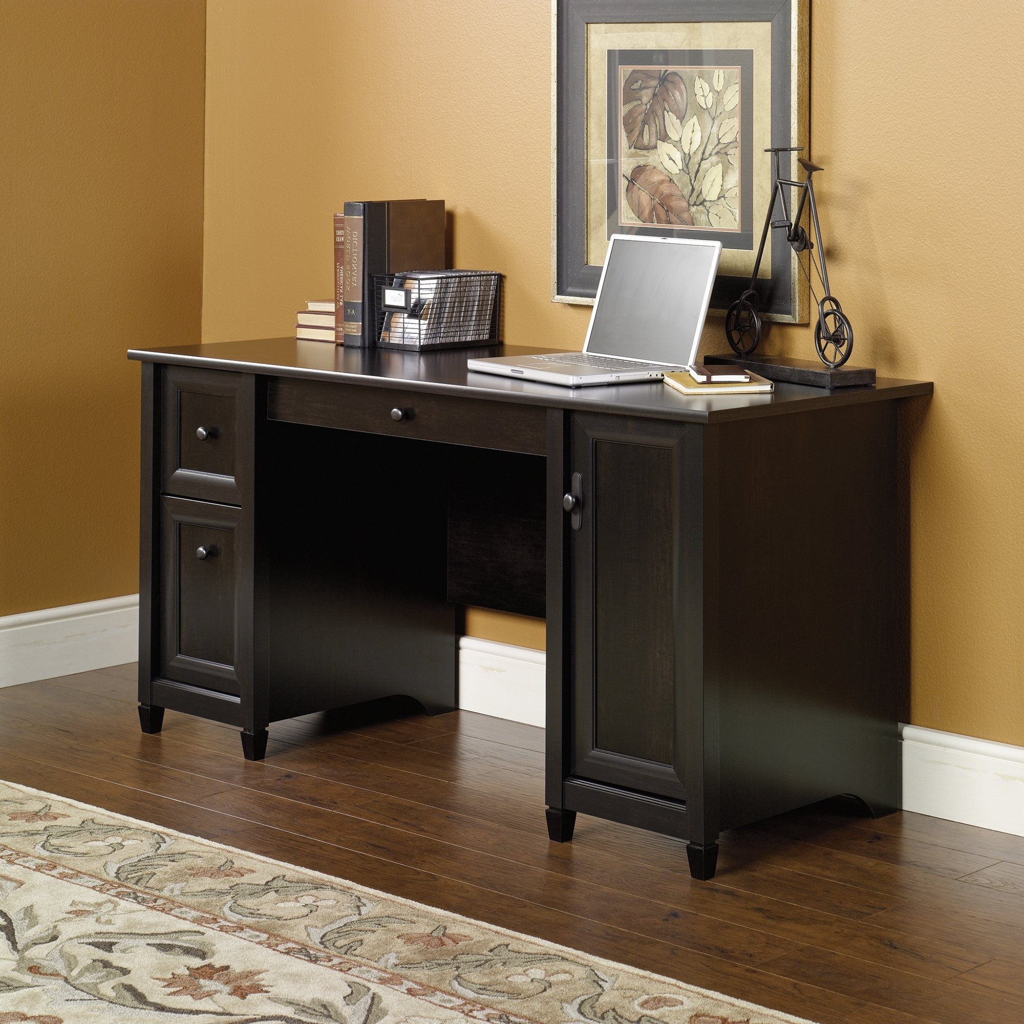 Sauder With Most Current Computer Desks With Drawers (View 18 of 20)