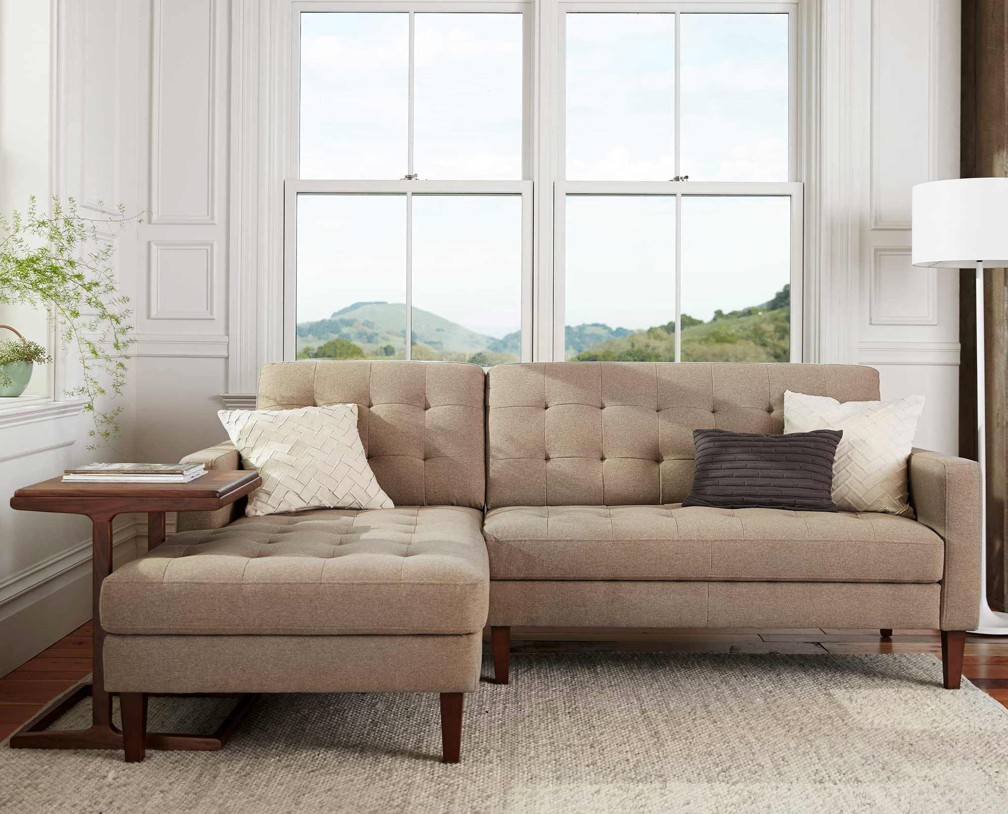 Scandinavian Designs – Create A Relaxing Aesthetic With The Intended For Latest Dania Sectional Sofas (View 5 of 20)