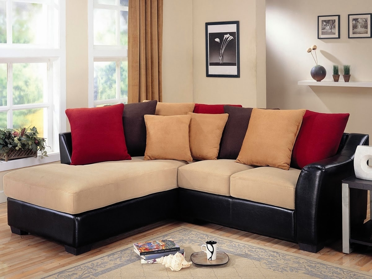 Sectional Couches For Cheap Leather Sectional Modern Sectional Throughout Famous Cheap Black Sofas (View 10 of 20)