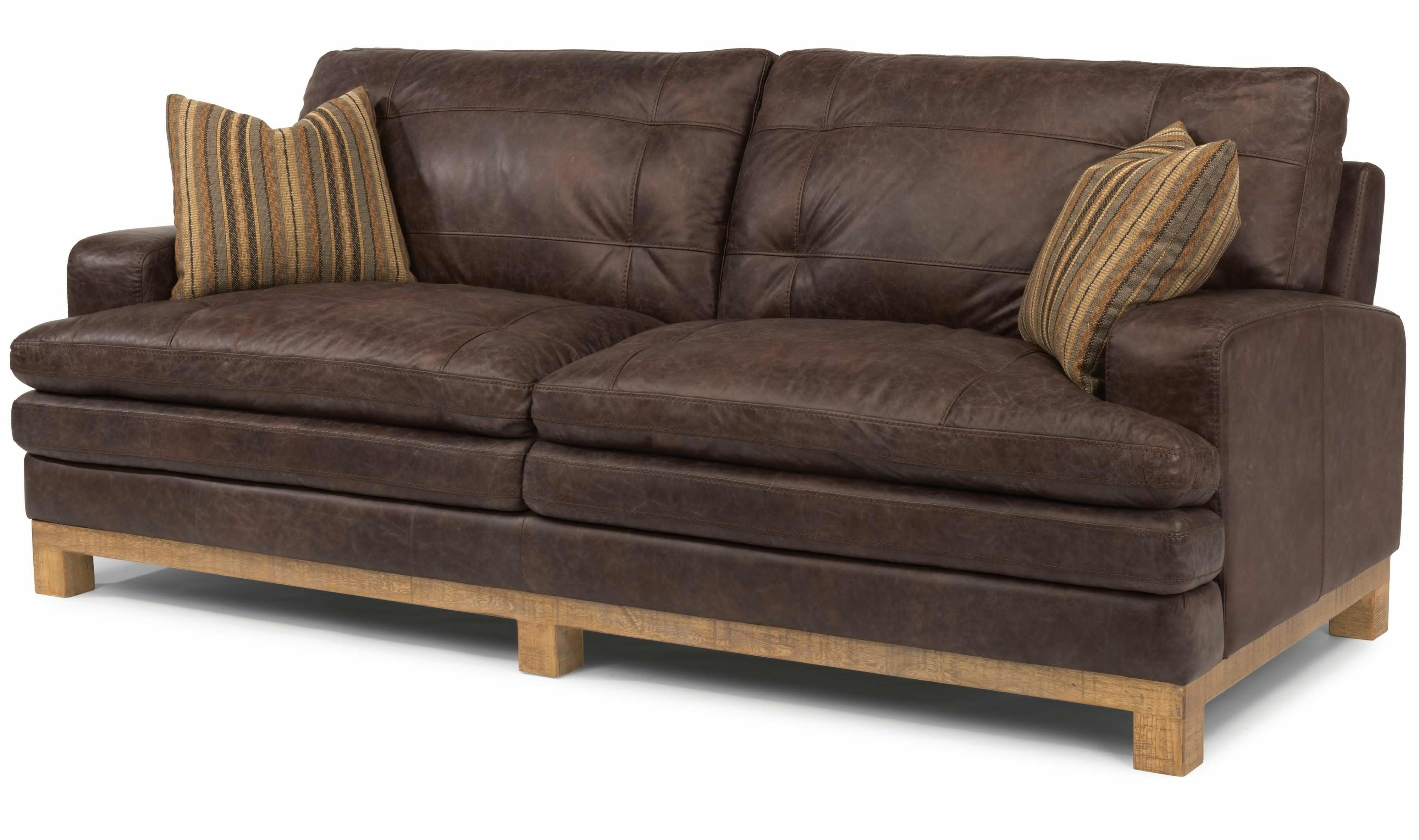 Sectional Sofa Design: Full Grain Leather Sectional Sofa With Current Full Grain Leather Sofas (View 5 of 20)