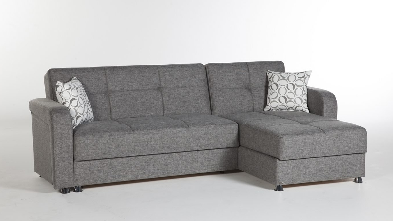 Sectional Sofa Design: Sleeper Sectional Sofas Small Spaces Chaise Pertaining To Latest Sectional Sleeper Sofas With Chaise (View 17 of 20)