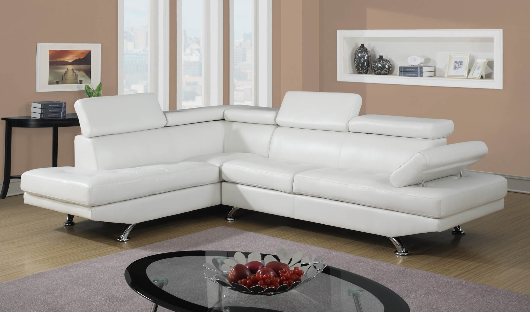 Featured Photo of White Sectional Sofas