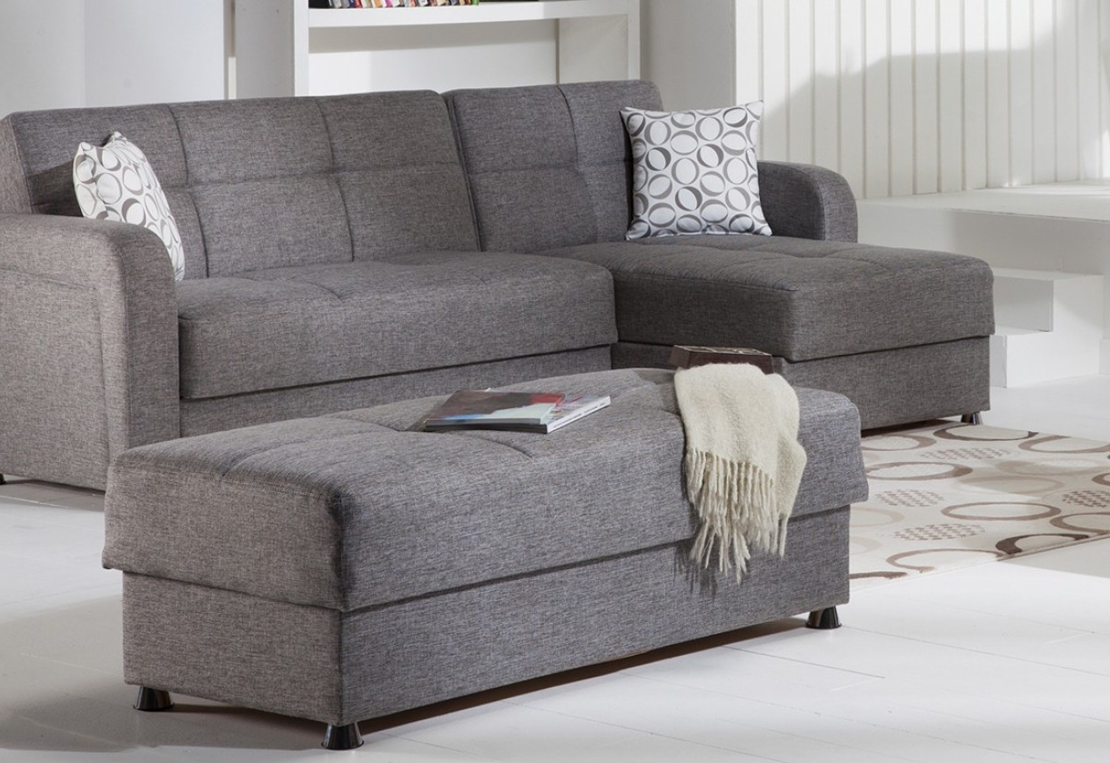 Sectional Sofa With Ottoman Sectional Sofa With Oversized Ottoman Intended For Preferred Small Sectional Sofas With Chaise And Ottoman (View 6 of 20)