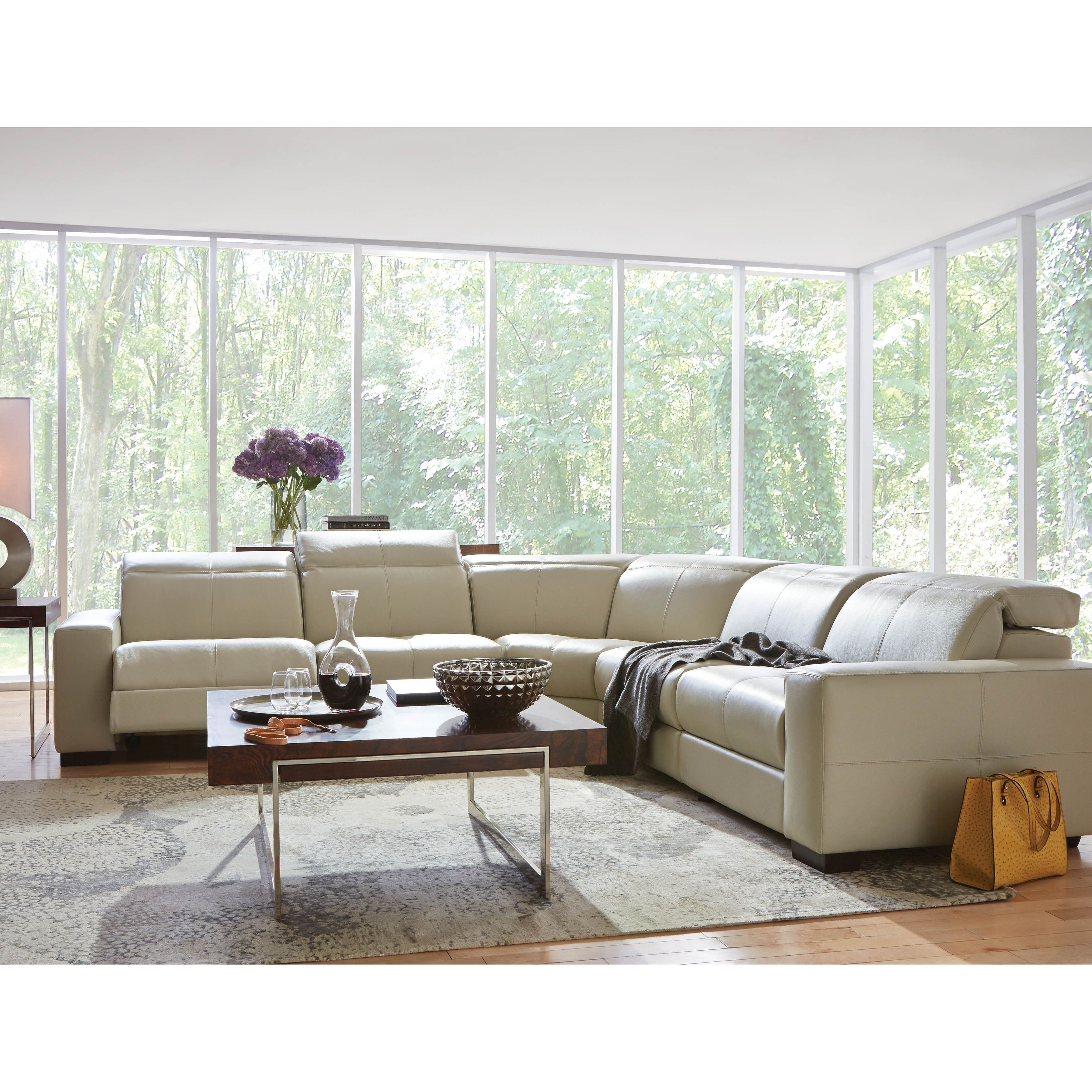 Sectional Sofas Art Van Regarding Fashionable Cool, Clean, Contemporary And It Reclines! The Gianna Reclining (View 14 of 20)