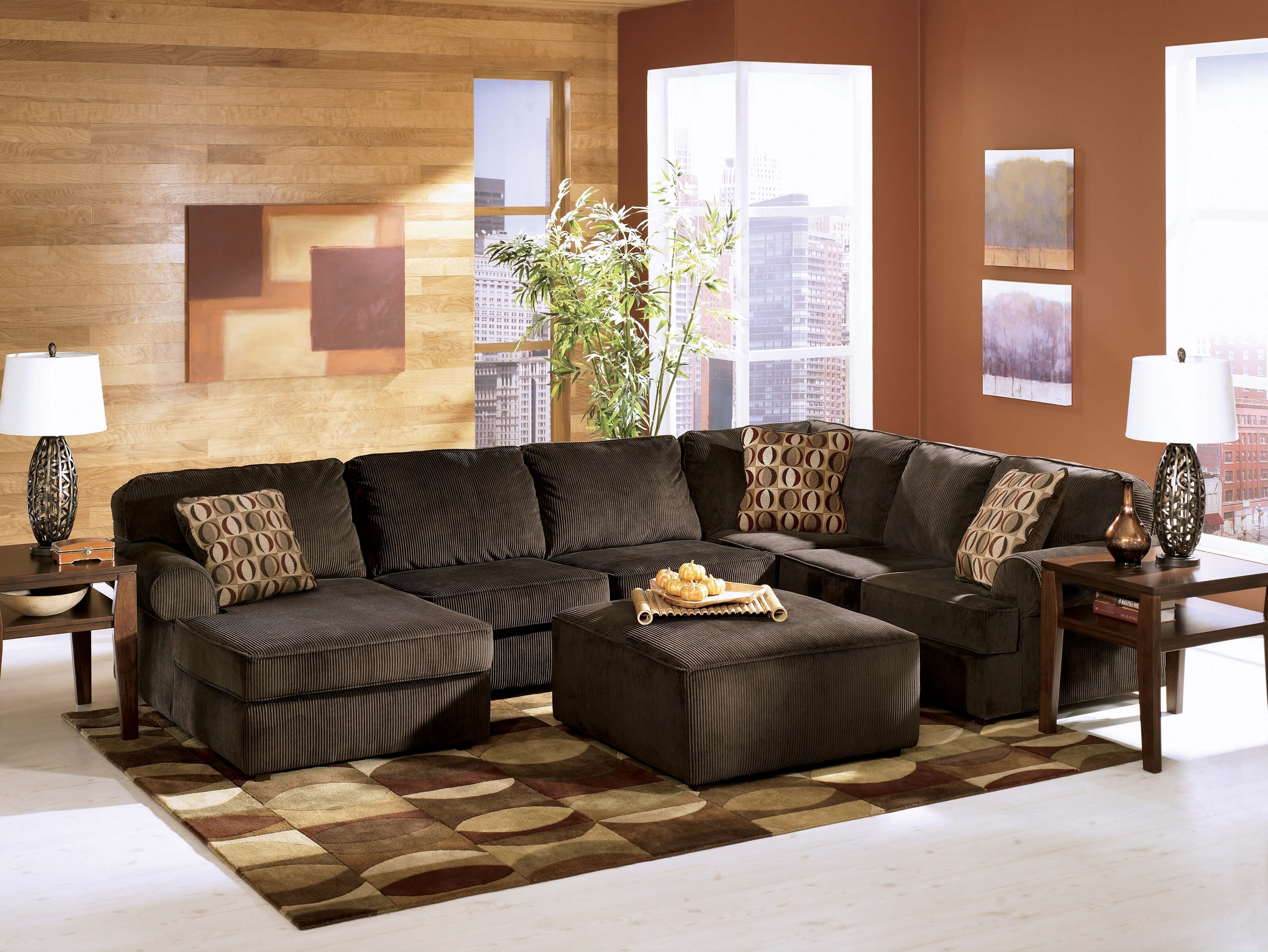 Sectional Sofas At Ashley Furniture Pertaining To Current Ashley Furniture Sectional Sofa, Ashley Furniture Brown Sectional (View 15 of 20)