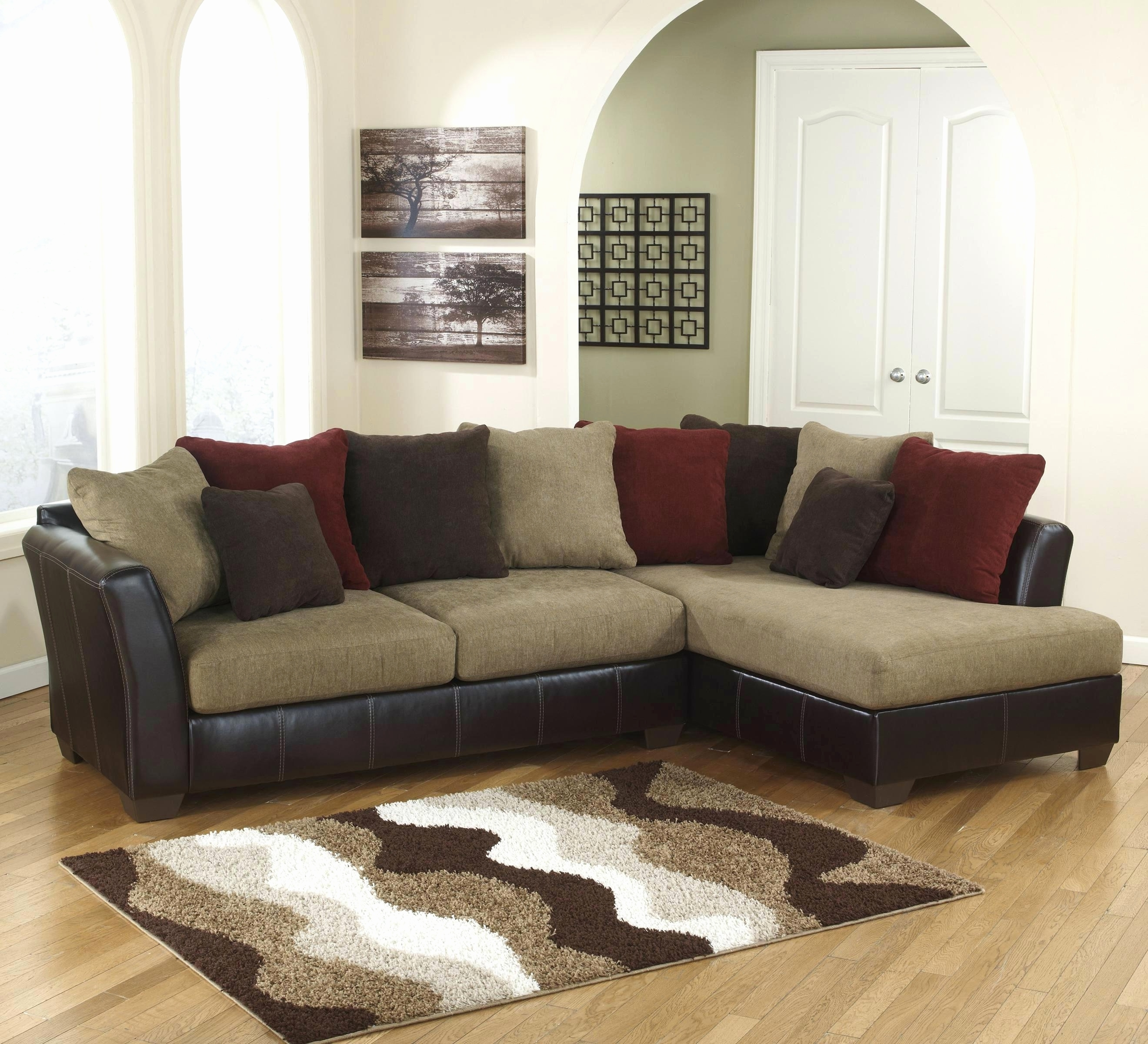 Sectional Sofas At Ashley With Most Up To Date Furniture : New Ashley Furniture Sectional Sofas 2018 E (View 8 of 20)