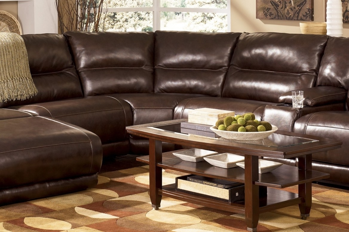 Sectional Sofas At Bangalore With Trendy Recliner : Ideal Sectional Sofa With Recliner Leather Hypnotizing (View 14 of 20)