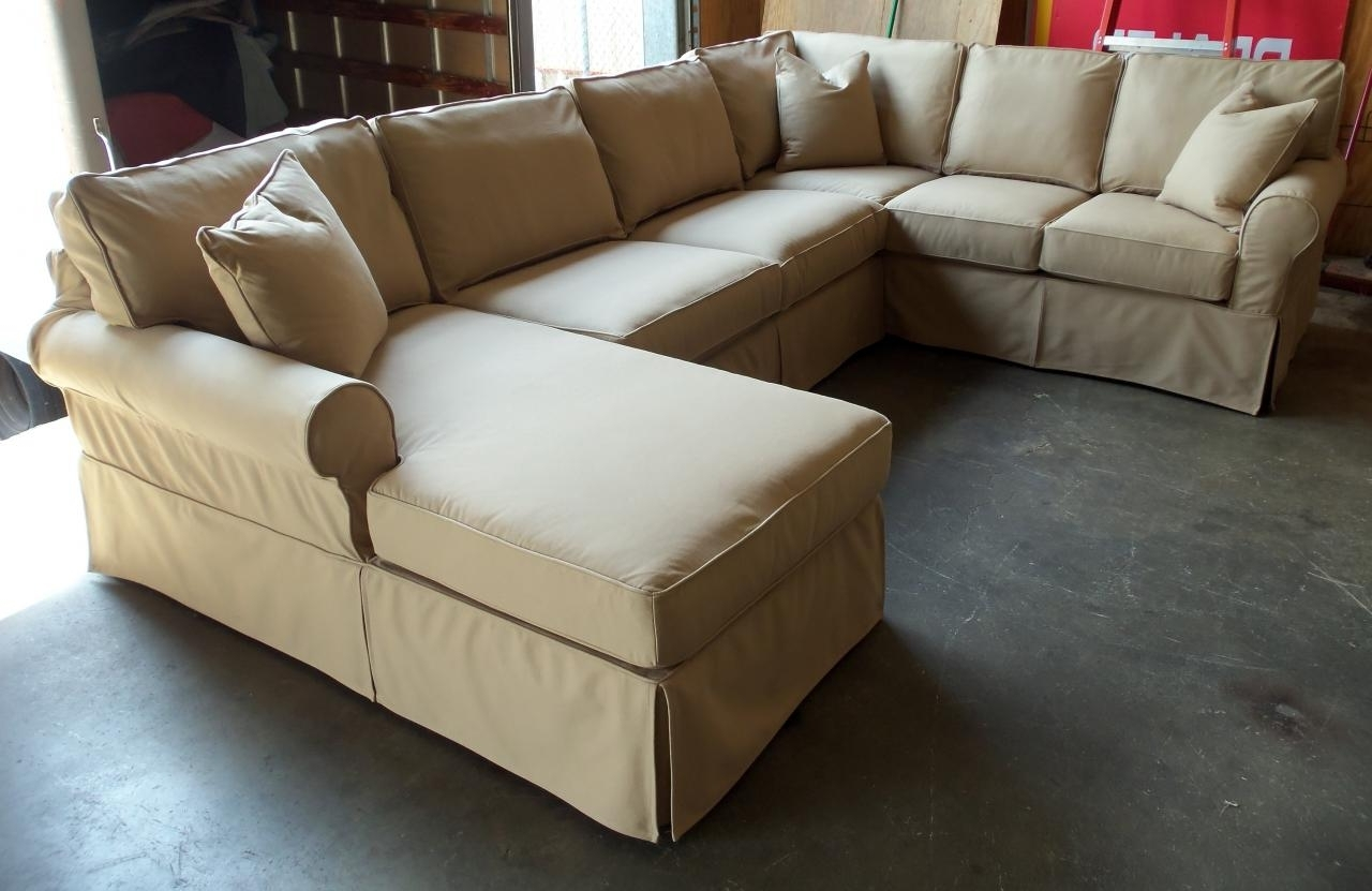 Sectional Sofas At Birmingham Al In Well Known Barnett Furniture – Rowe Furniture Masquerade Slipcover Sectional (View 11 of 20)