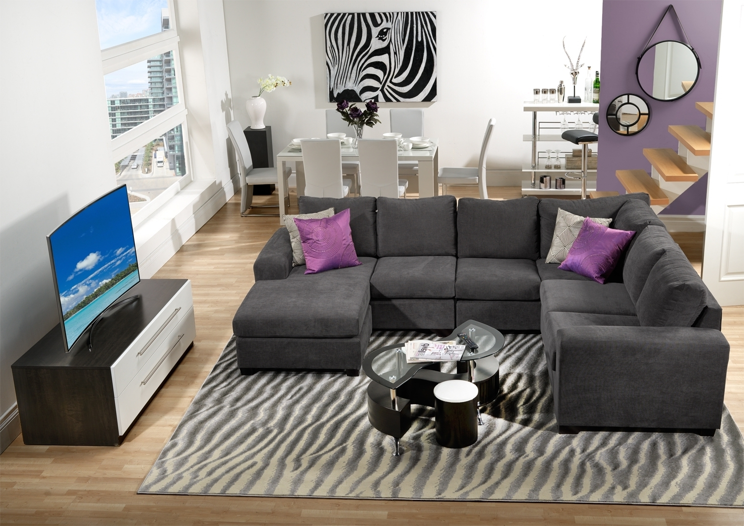 Sectional Sofas At Brampton Pertaining To Most Up To Date Danielle Upholstery 3 Pc. Sectional – Leon's (View 18 of 20)