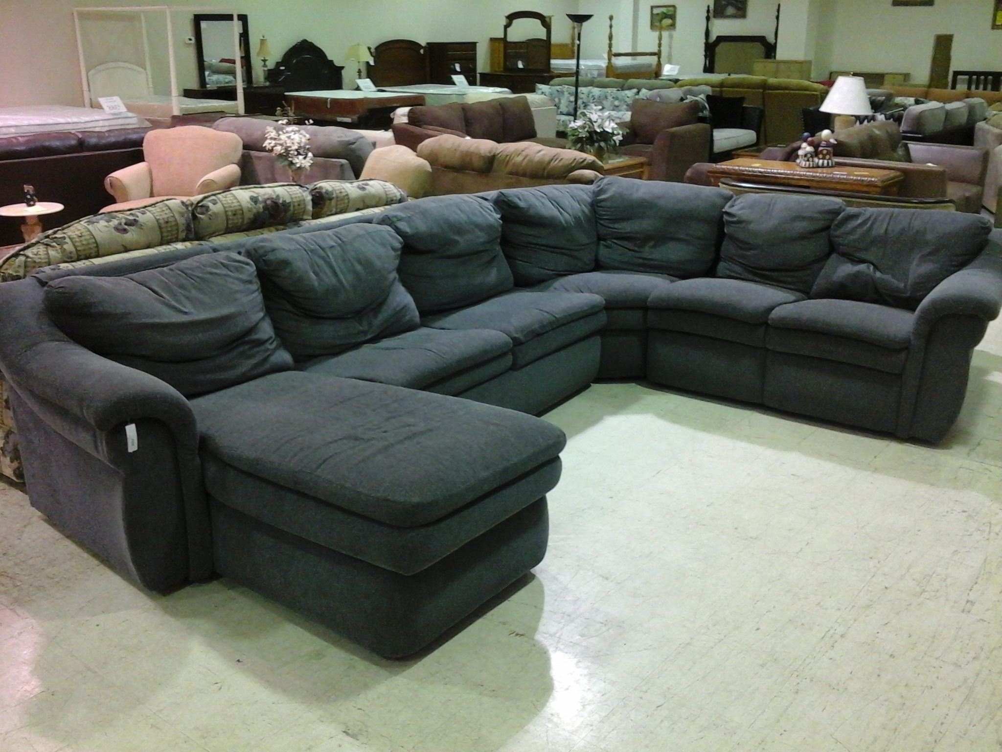 Sectional Sofas At Calgary With Regard To Famous Queen Sofa Sleeper Sectional Microfiber (View 4 of 20)