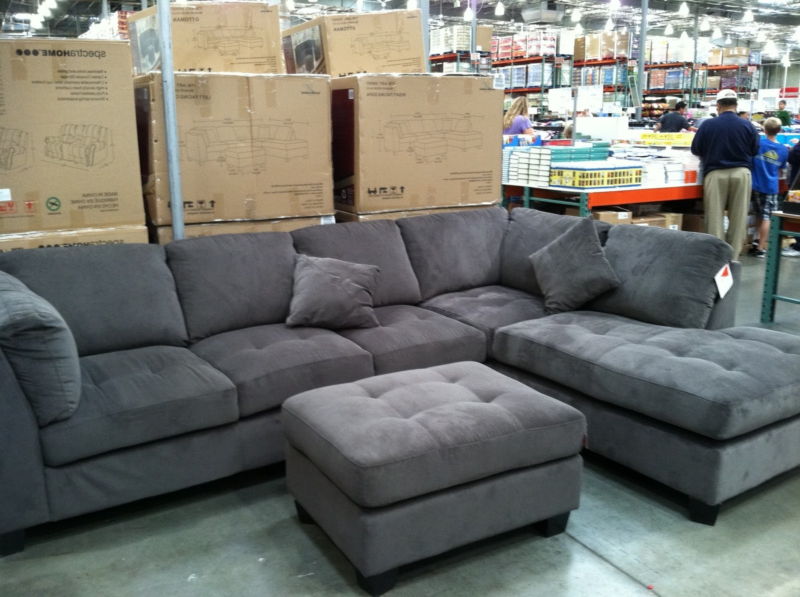 Sectional Sofas At Costco For 2019 Epic Gray Sofa 21 Table Ideas