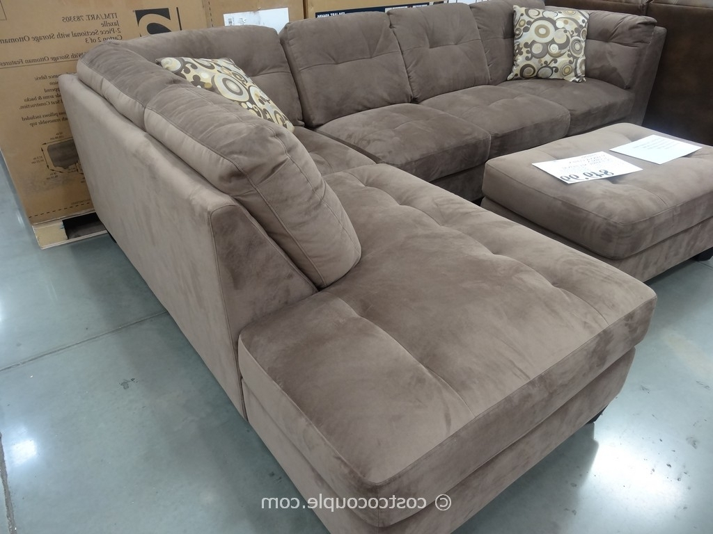 Sectional Sofas At Costco For Popular Macy's Sectional Sofas 5 Piece With Ottoman Costco Emerald Also (View 9 of 20)