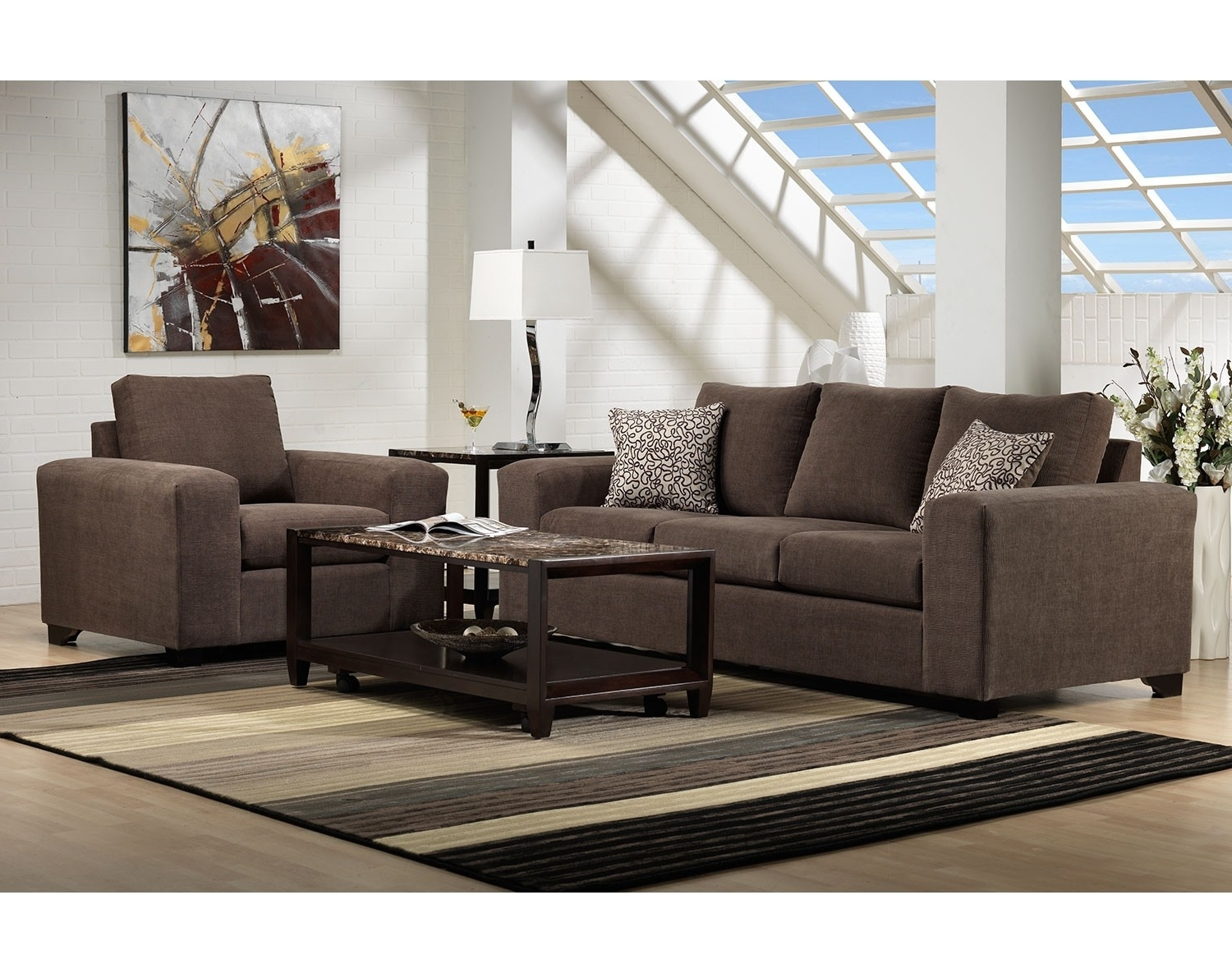 Sectional Sofas At Edmonton With Regard To Most Recent Modern Furniture Edmonton Living Room Collection Leons Loveseat (View 18 of 20)