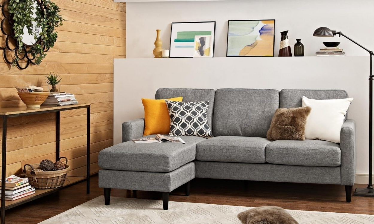 Sectional Sofas For Small Places In Best And Newest Best Sectional Sofas For Small Spaces – Overstock (View 7 of 20)