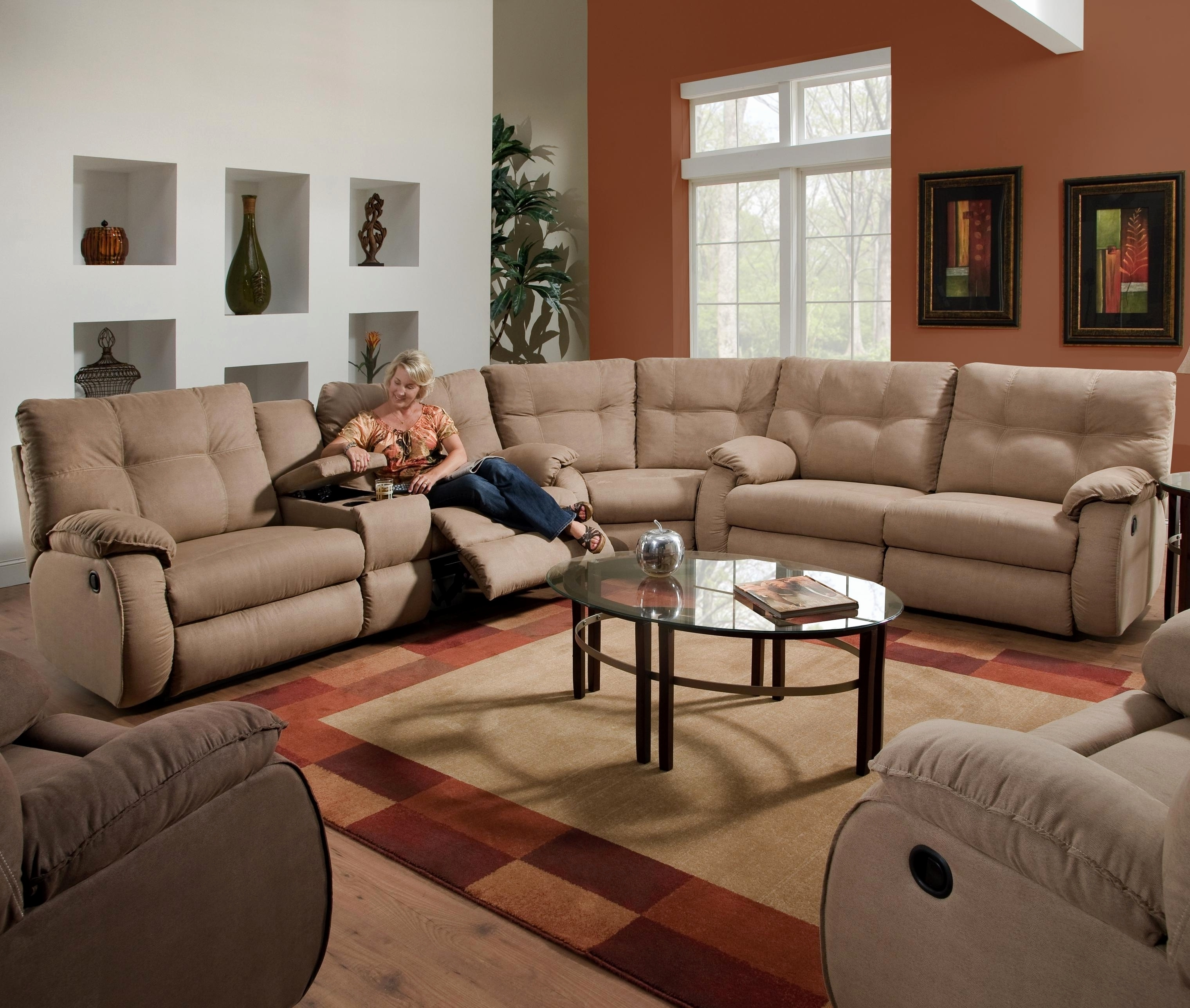Sectional Sofas For Small Spaces With Recliners In Most Recent Inspirational Recliners For Small Spaces 2018 – Couches And Sofas (View 10 of 20)