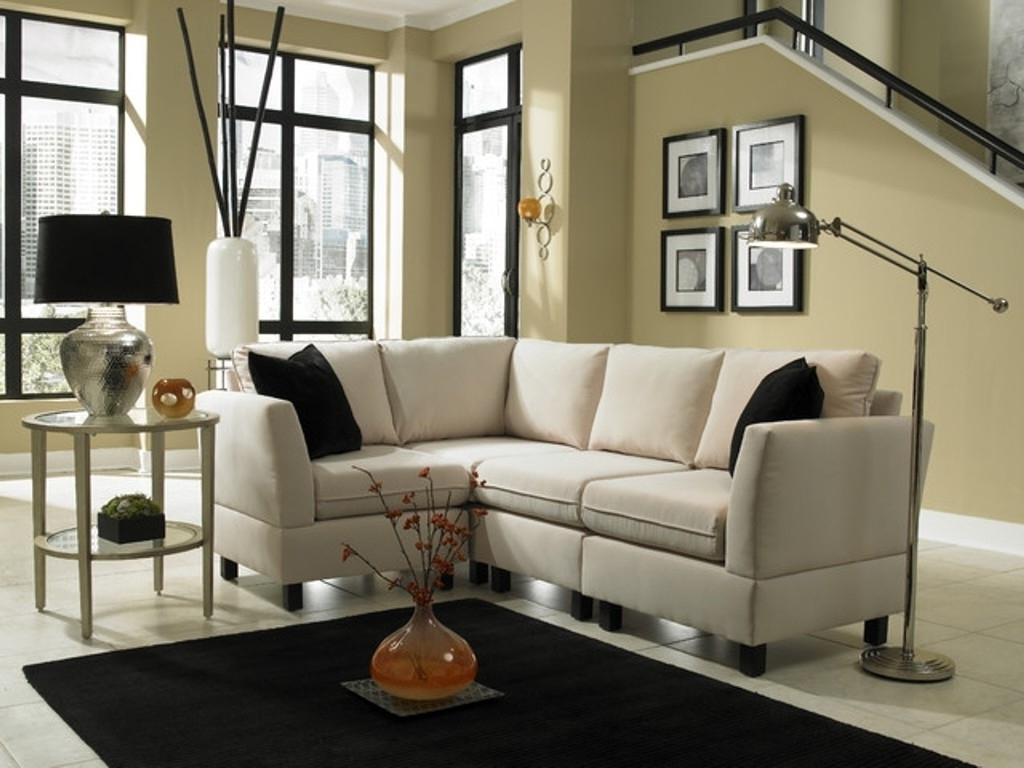 Sectional Sofas In Small Spaces With Regard To Famous Small Living Room Sectional Ideas Couches For Small Spaces Living (View 12 of 20)