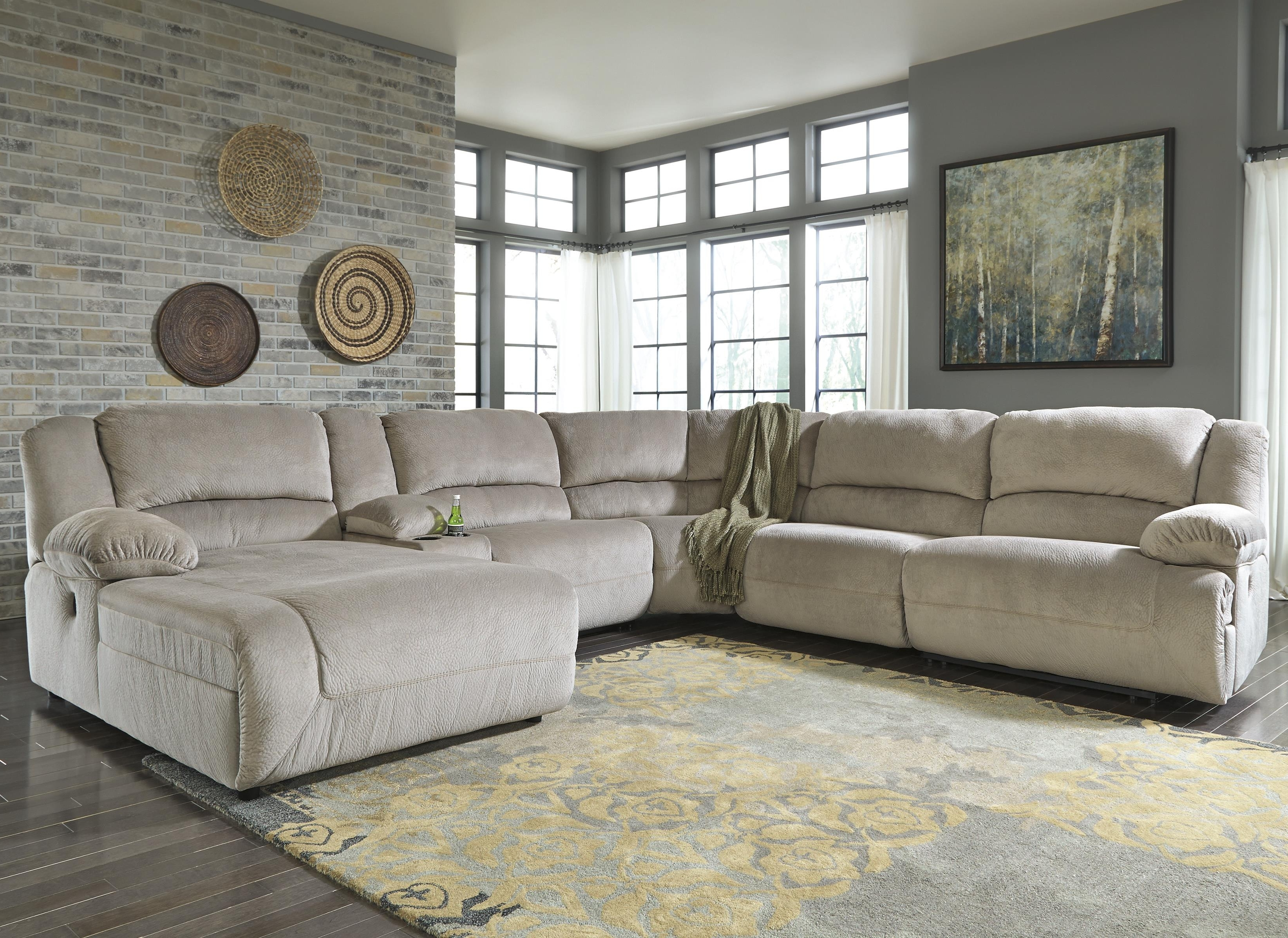 Sectional Sofas That Can Be Rearranged Intended For Most Recent Sofa : Logan Sectional Sofa Setashley Furniture Ashley (View 14 of 20)