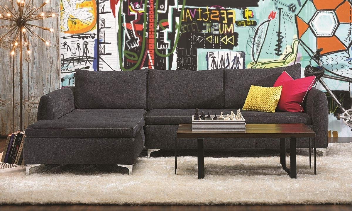 Sectional Sofas With Chaise Intended For Trendy Camden Chaise Sectional Sofa (View 4 of 20)