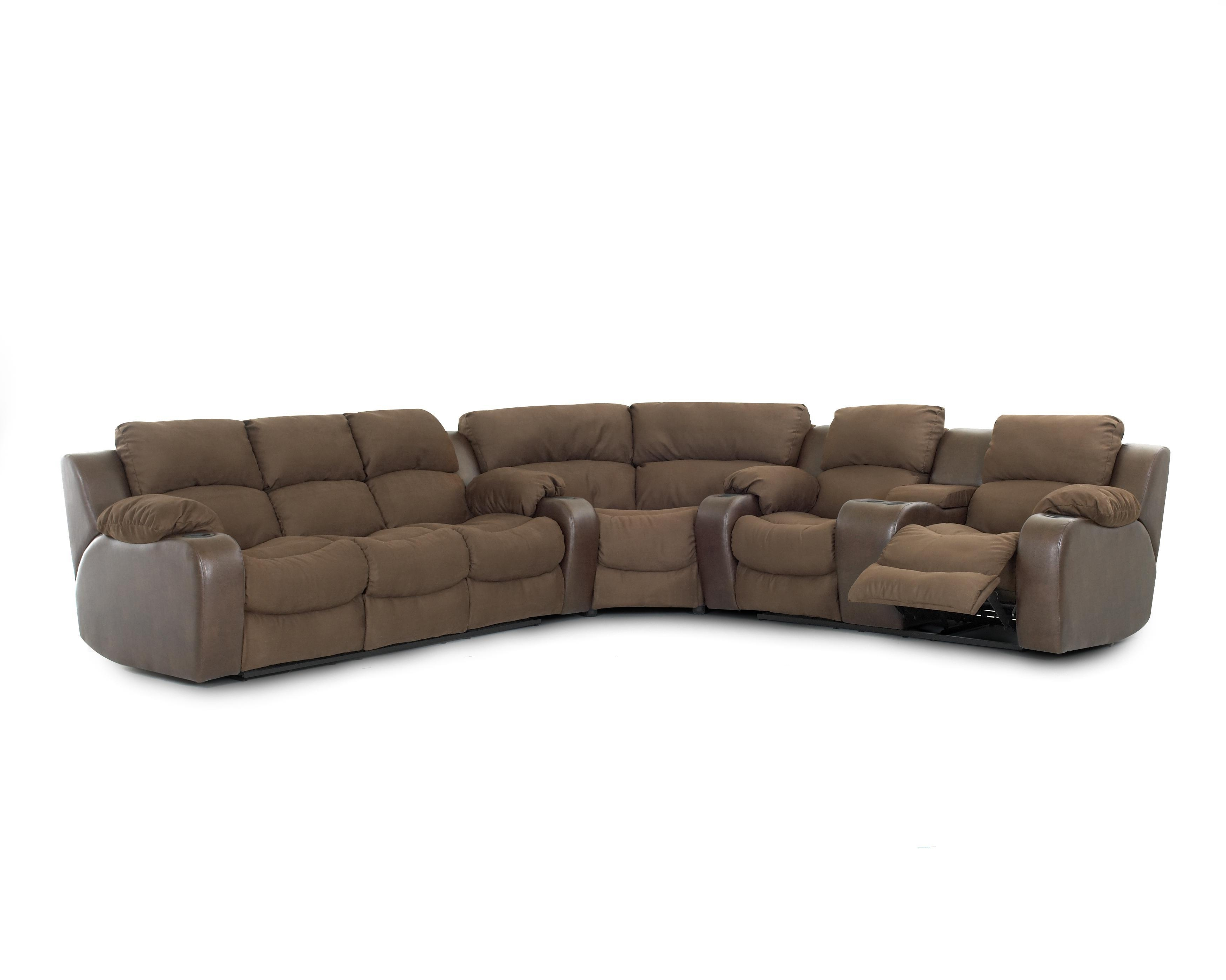 Sectional Sofas With Consoles Inside 2019 Sofas : L Shaped Couch Modular Couch Modular Sofa Grey Reclining (View 3 of 20)