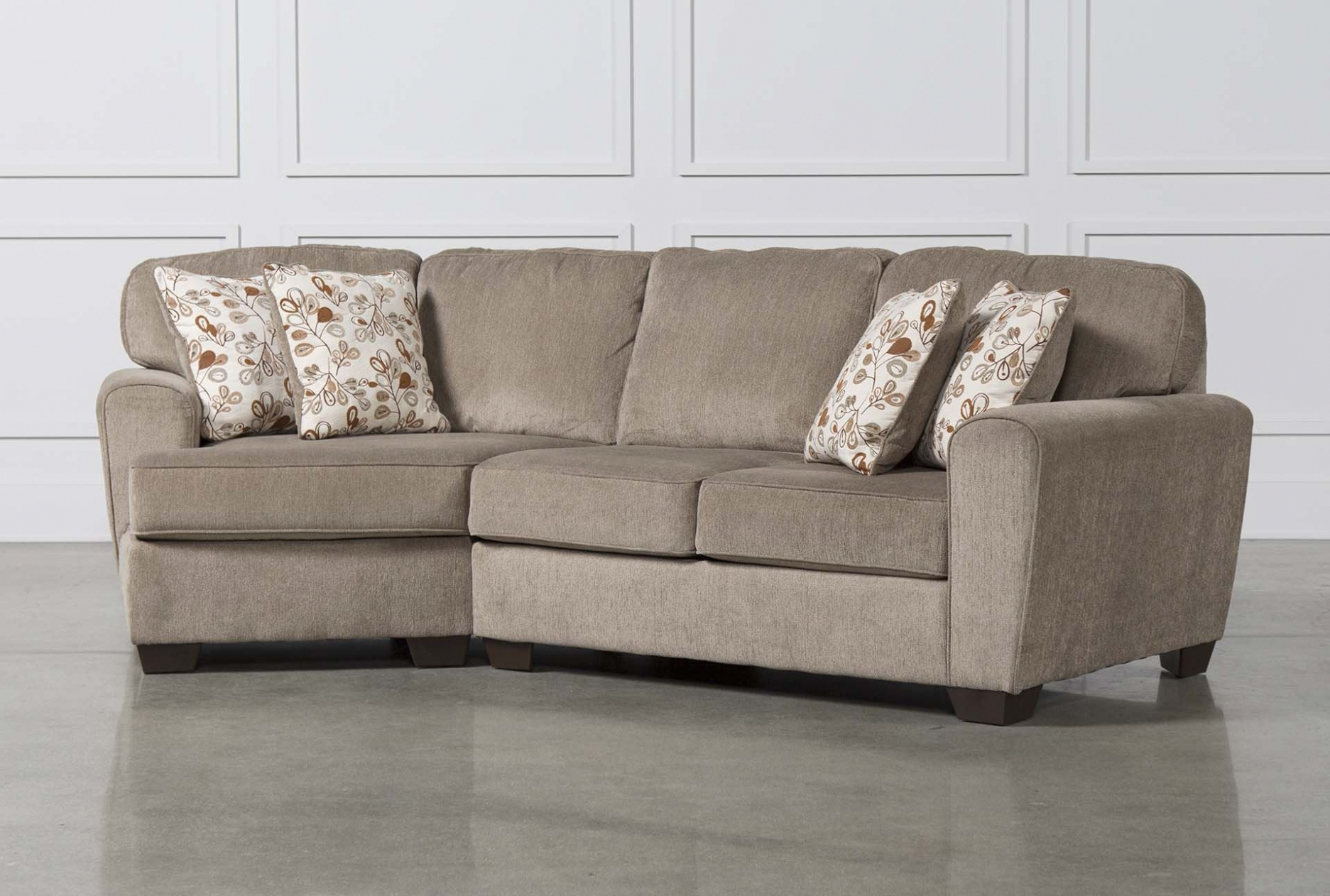 Sectional Sofas With Cuddler Chaise In Recent Furniture: Patola Park 4 Piece Sectional W Raf Cuddler Living (View 7 of 20)
