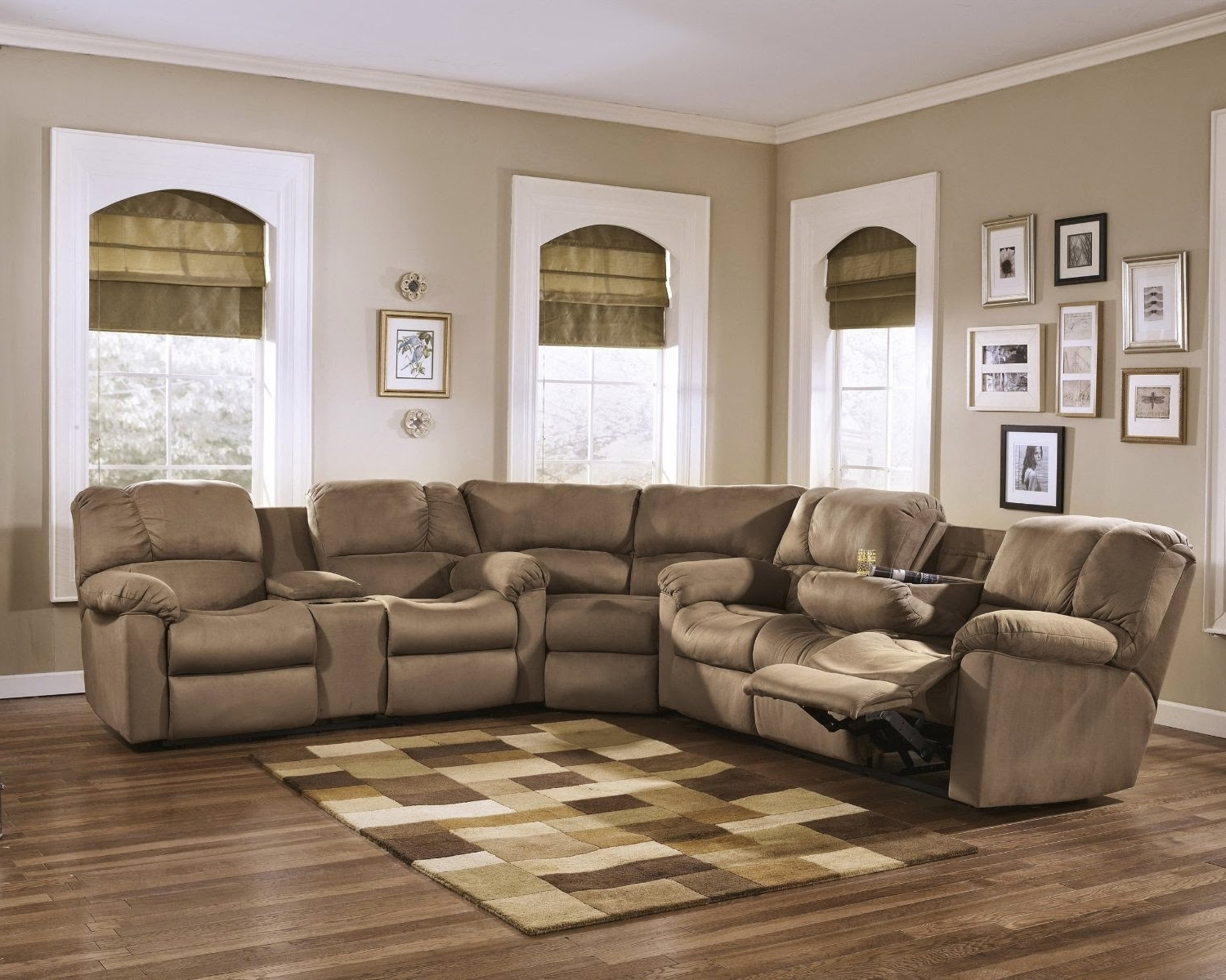 Sectional Sofas With Electric Recliners With Regard To Current Reclining Sofa Leather Recliner Sofa Deals Sectional Sofas With (View 19 of 20)